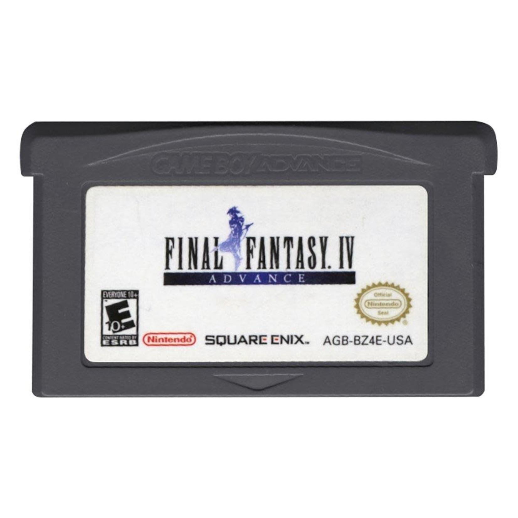 GBAU-Final Fantasy IV Advance (CARTRIDGE ONLY)