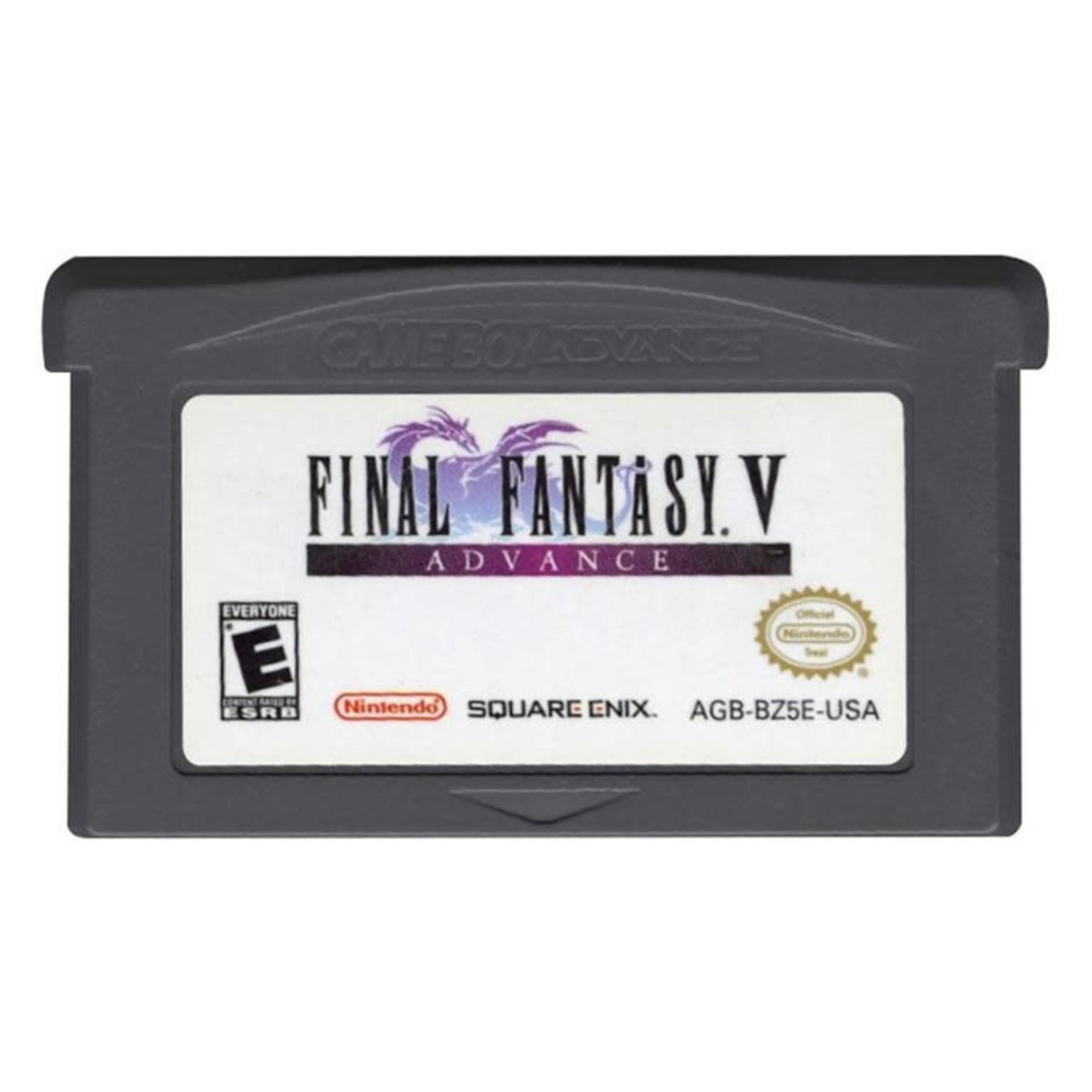 gbau-Final Fantasy V Advance (cartridge)