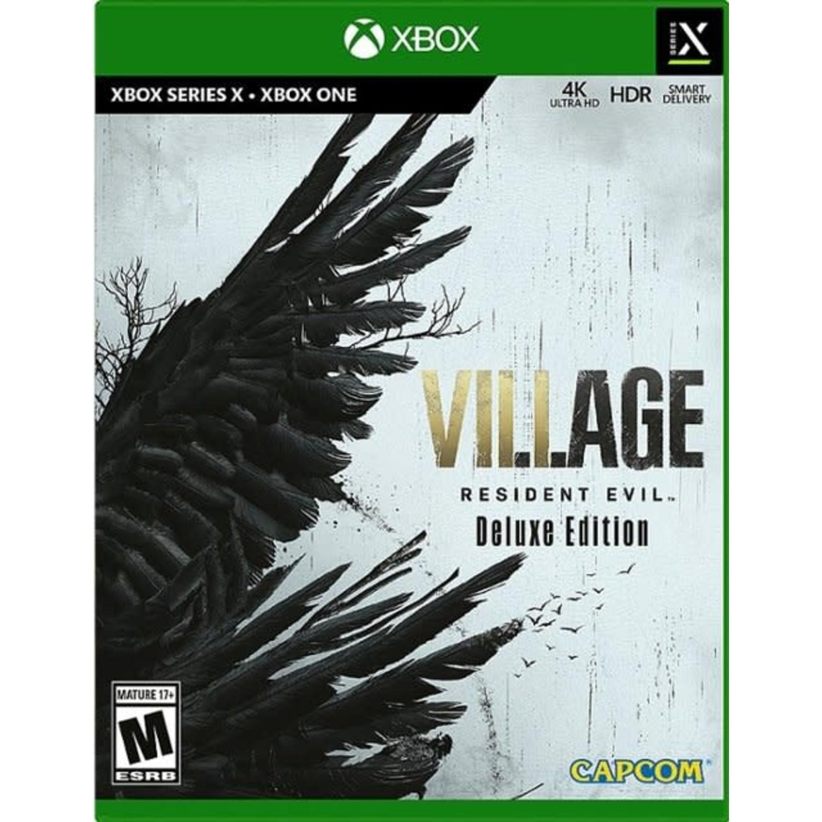 XB1-Resident Evil Village Deluxe Edition