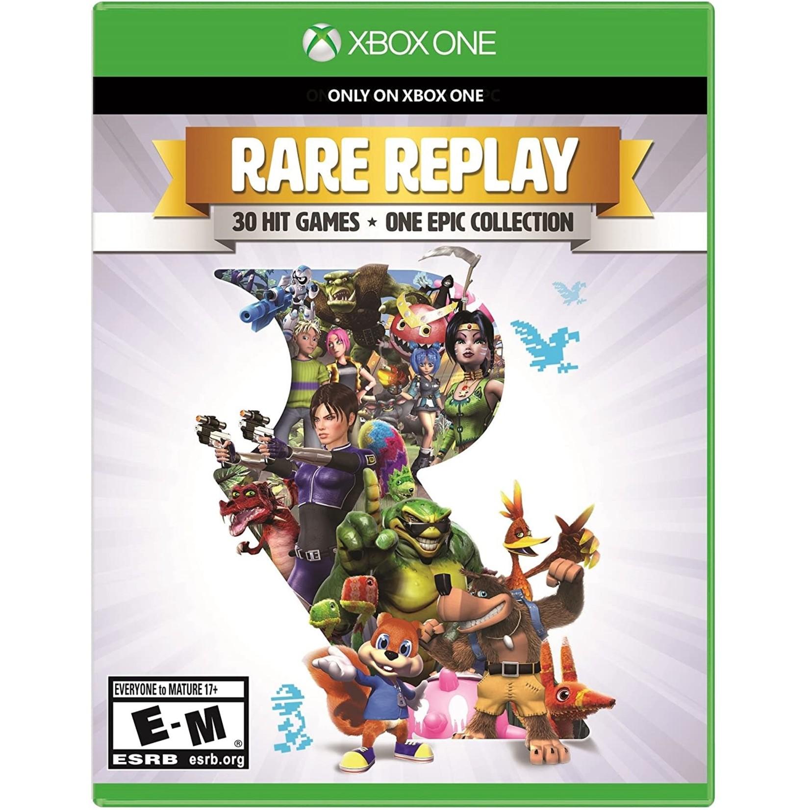 XB1-Rare Replay 30 hit games