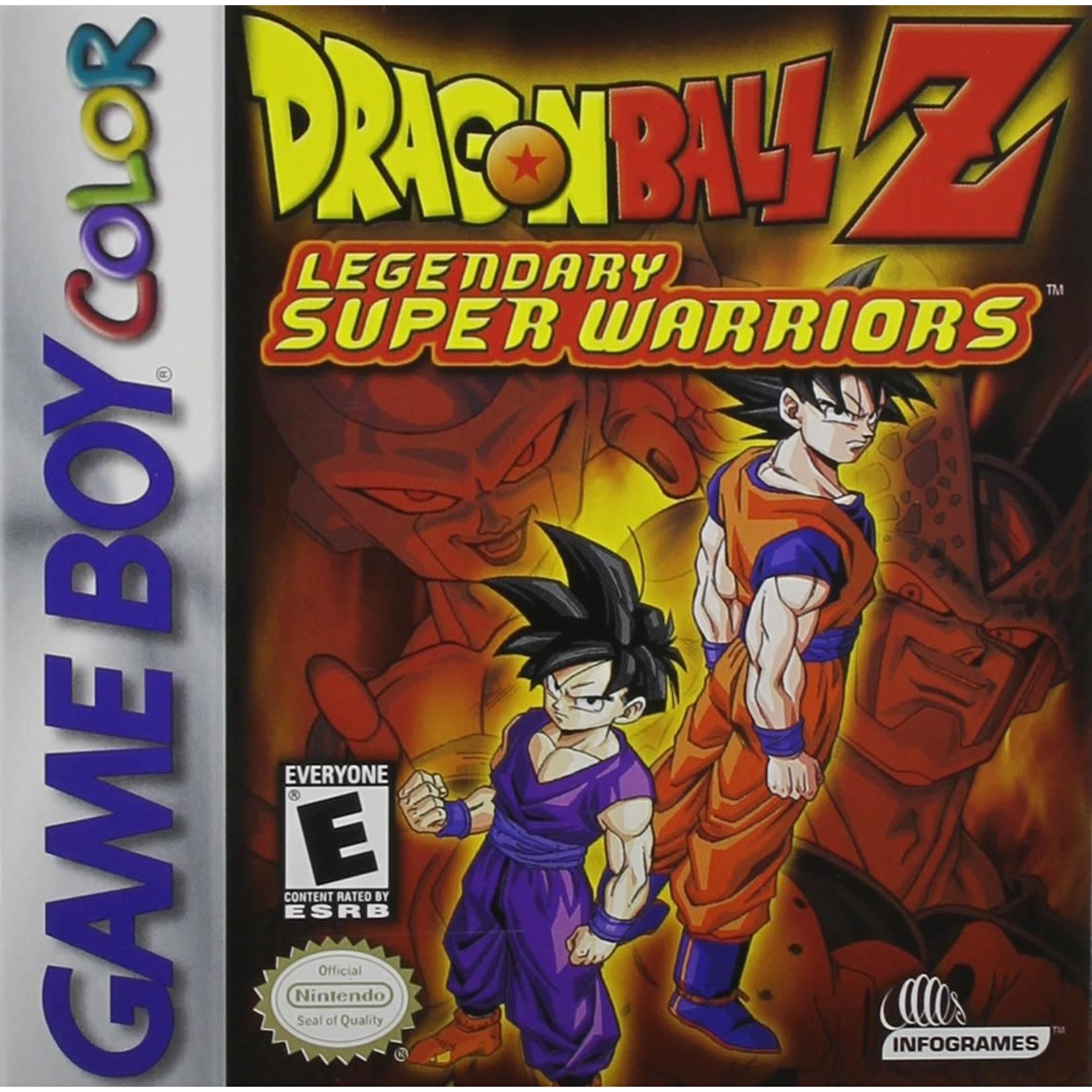 GBCU-Dragon Ball Z Legendary Super Warriors