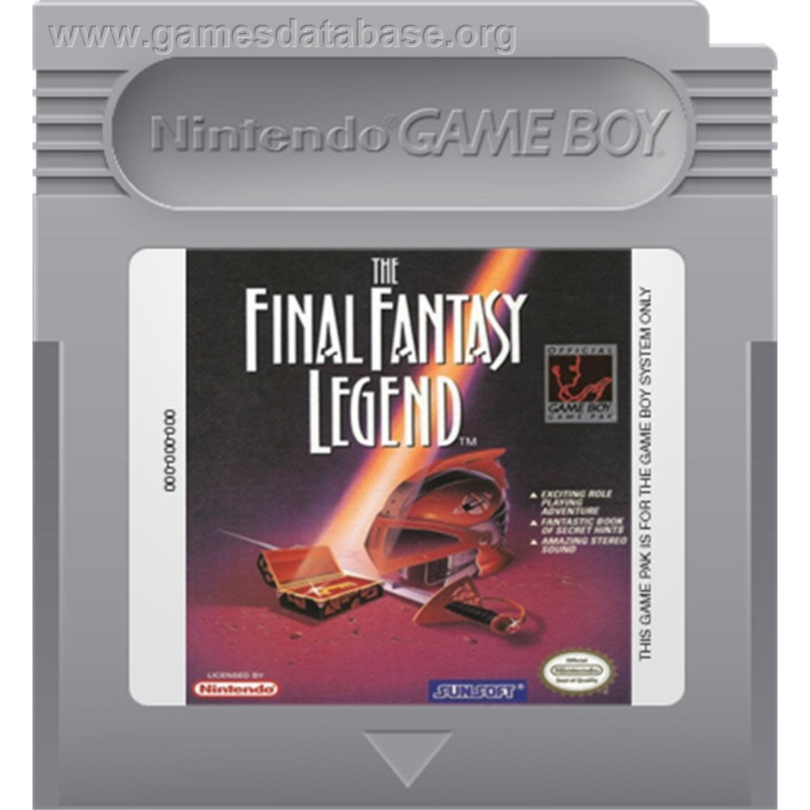 GBU-Final Fantasy Legend (CART ONLY)