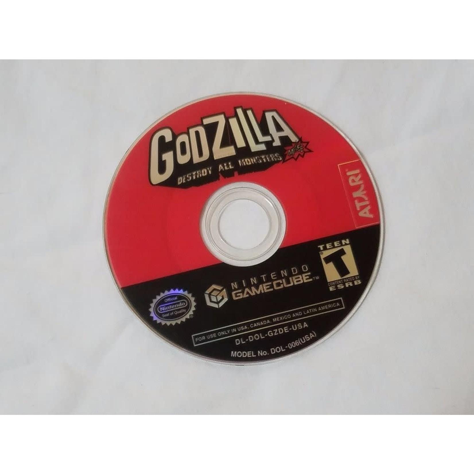 GCU-Godzilla Destroy All Monsters Melee (Disc)