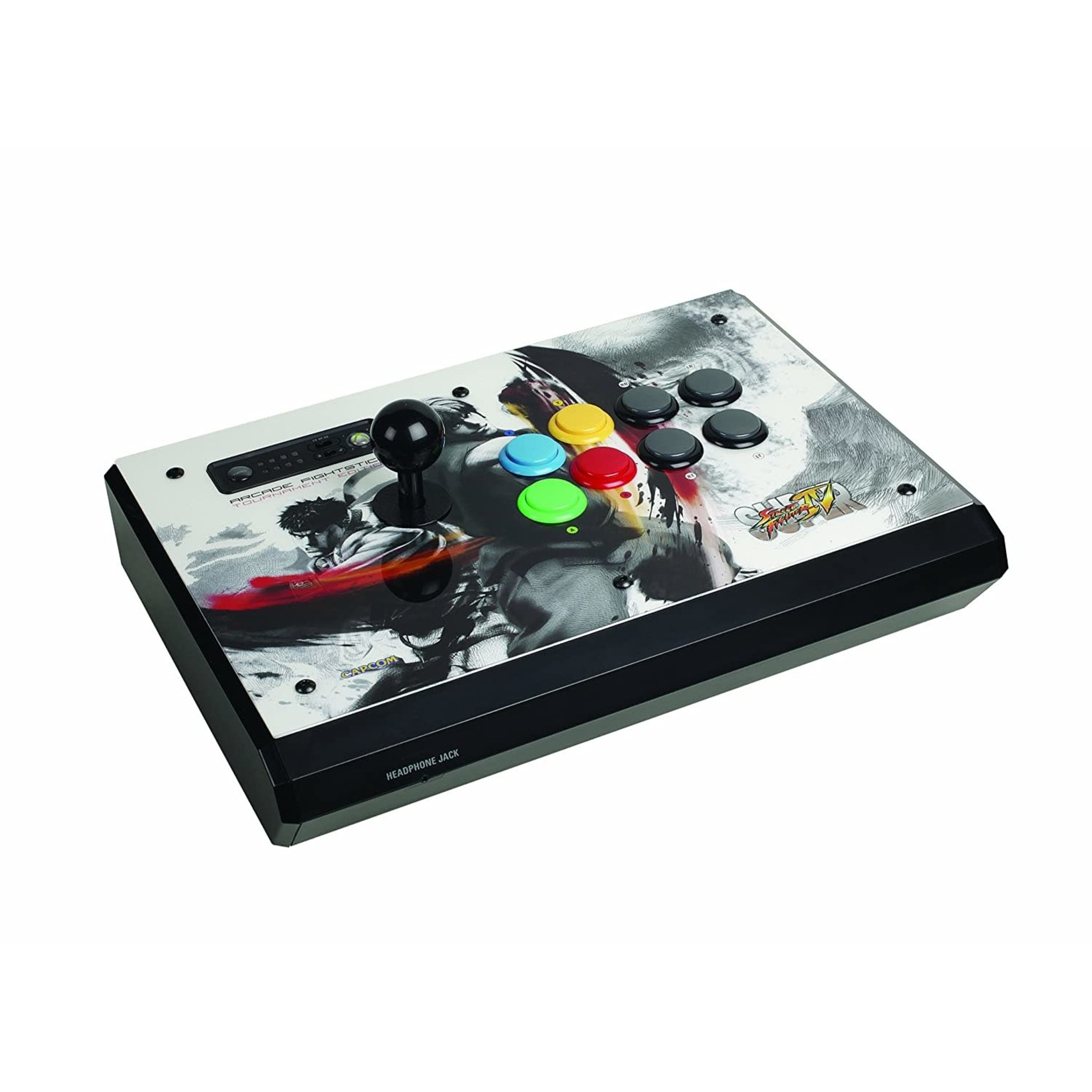 Mad Catz Super Street Fighter IV Arcade Fightstick Tournament Edition S Xbox 360 IN BOX