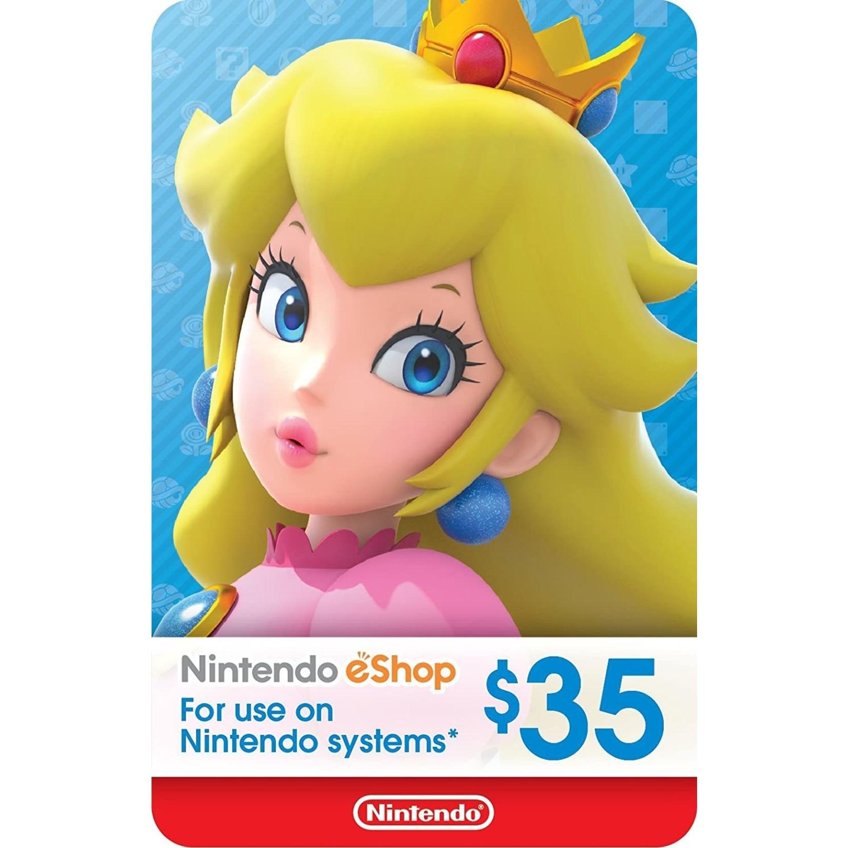 POINTS CARD-Nintendo $35