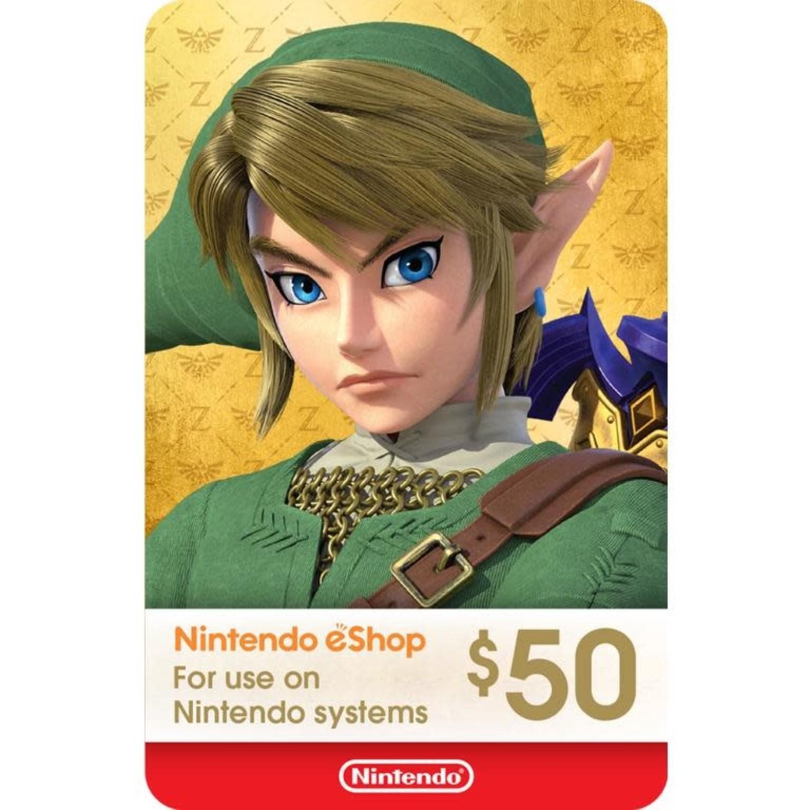 POINTS CARD-Nintendo $50