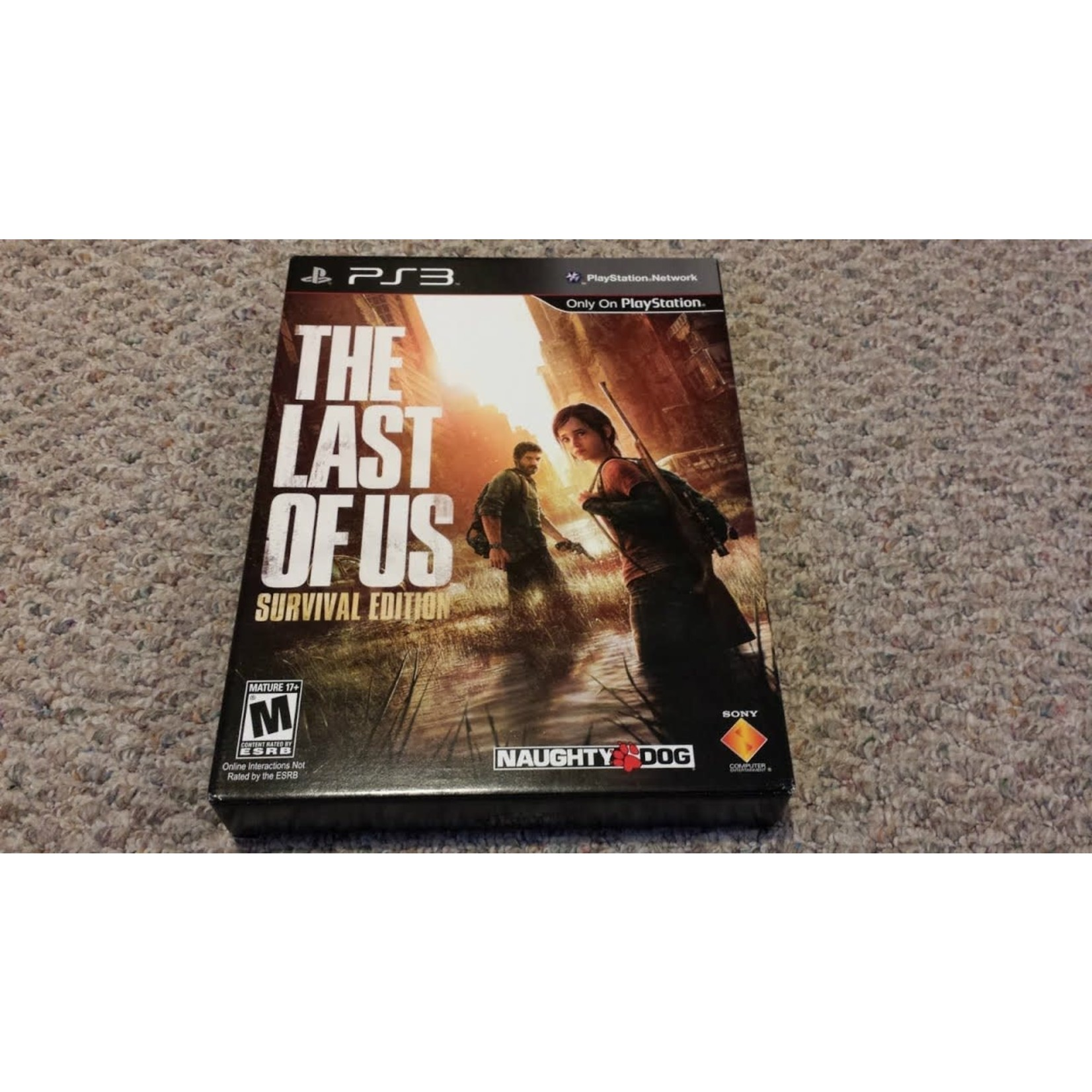 PS3-The Last of Us Survival Edition (no comic)