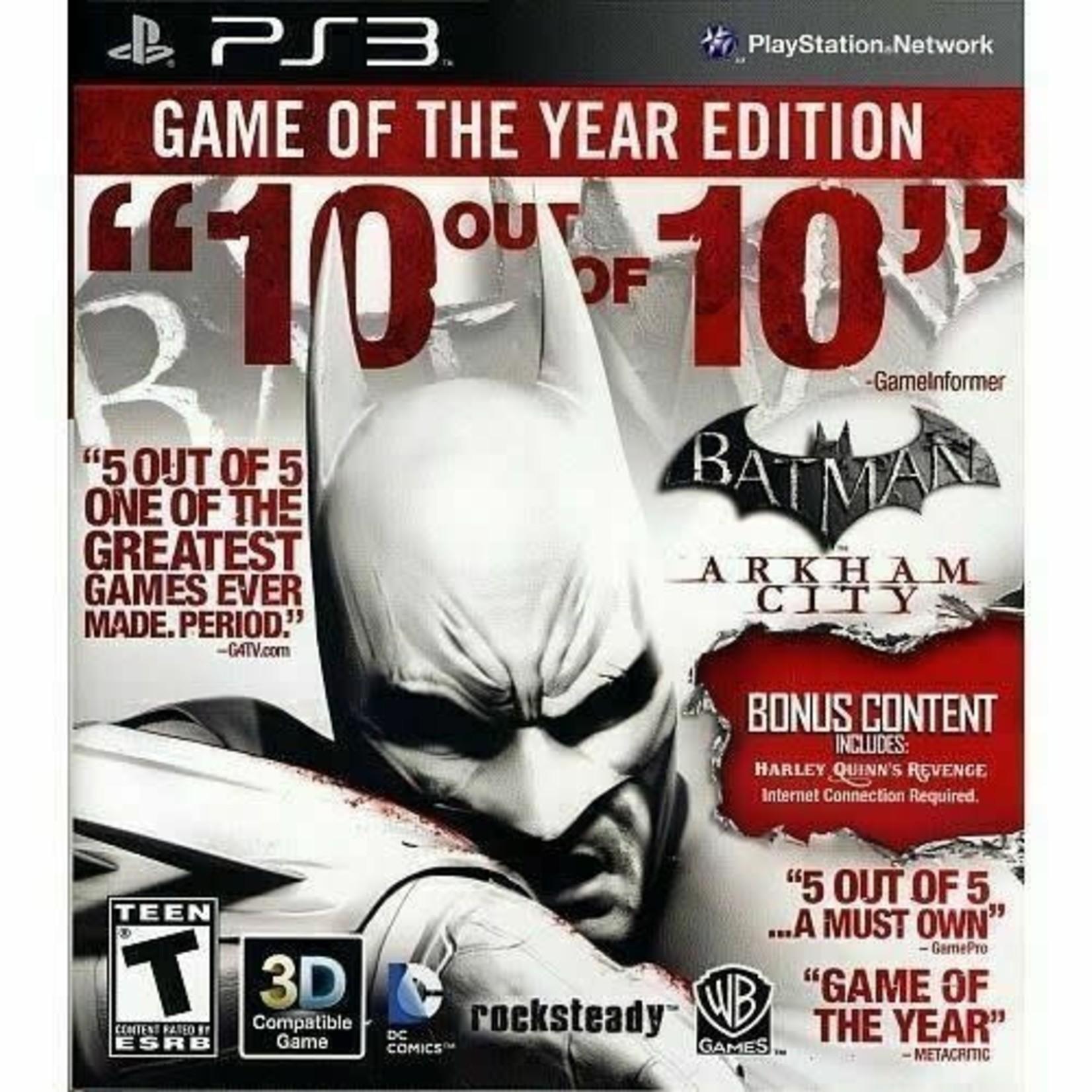PS3U-Batman: Arkham City Game of the Year Edition