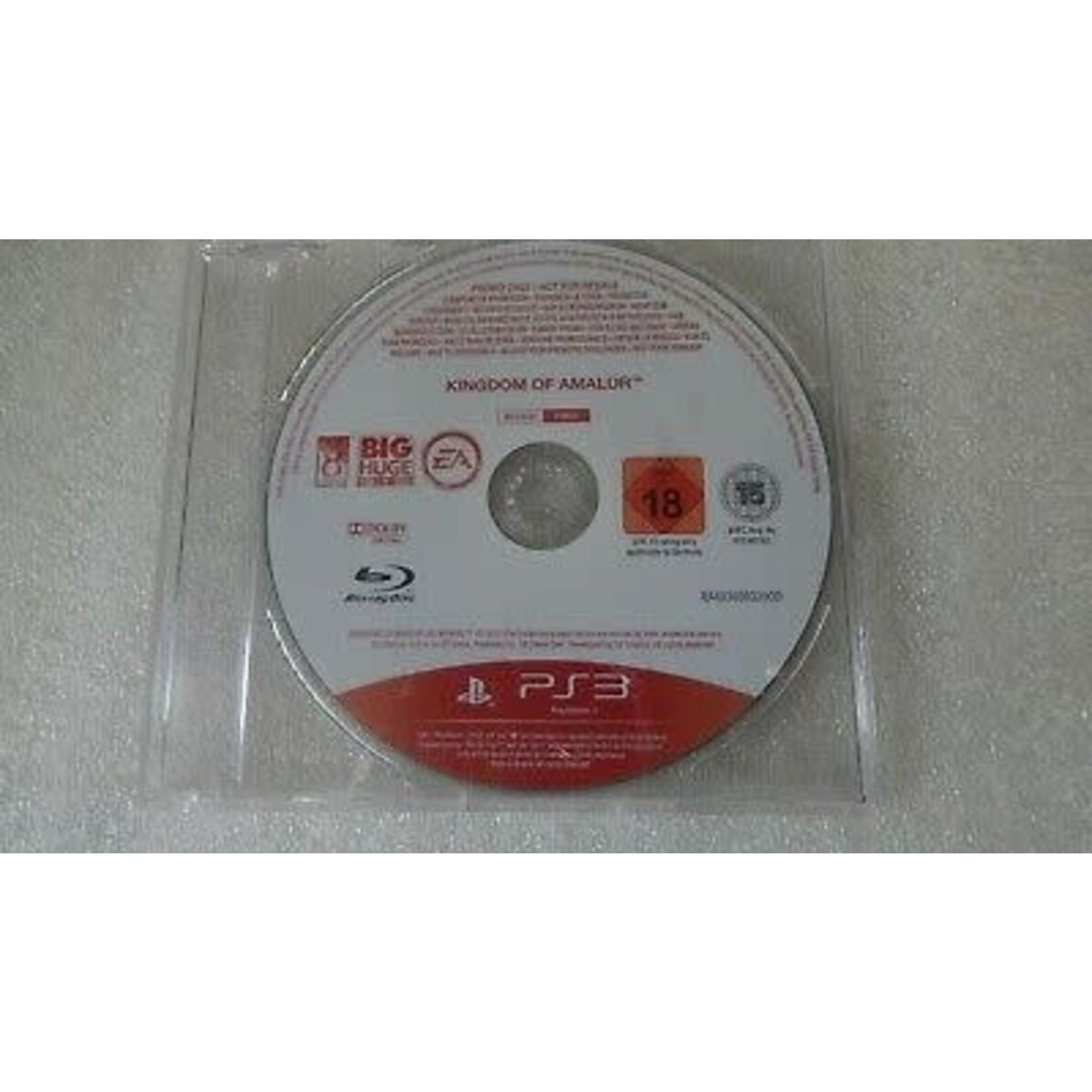 PS3U-Kingdom of Amalur (Rare Promo Disc)