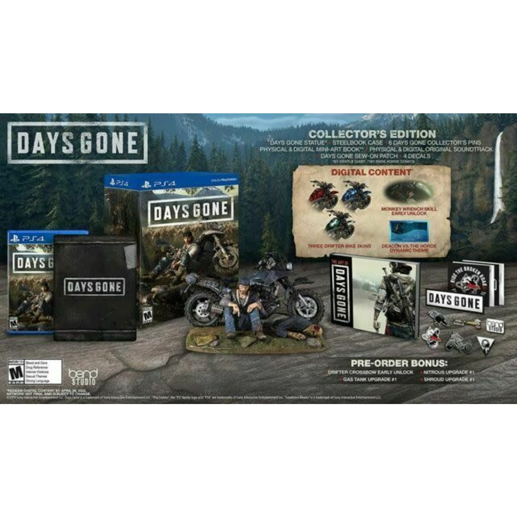 PS4-Days Gone Collector's Edition