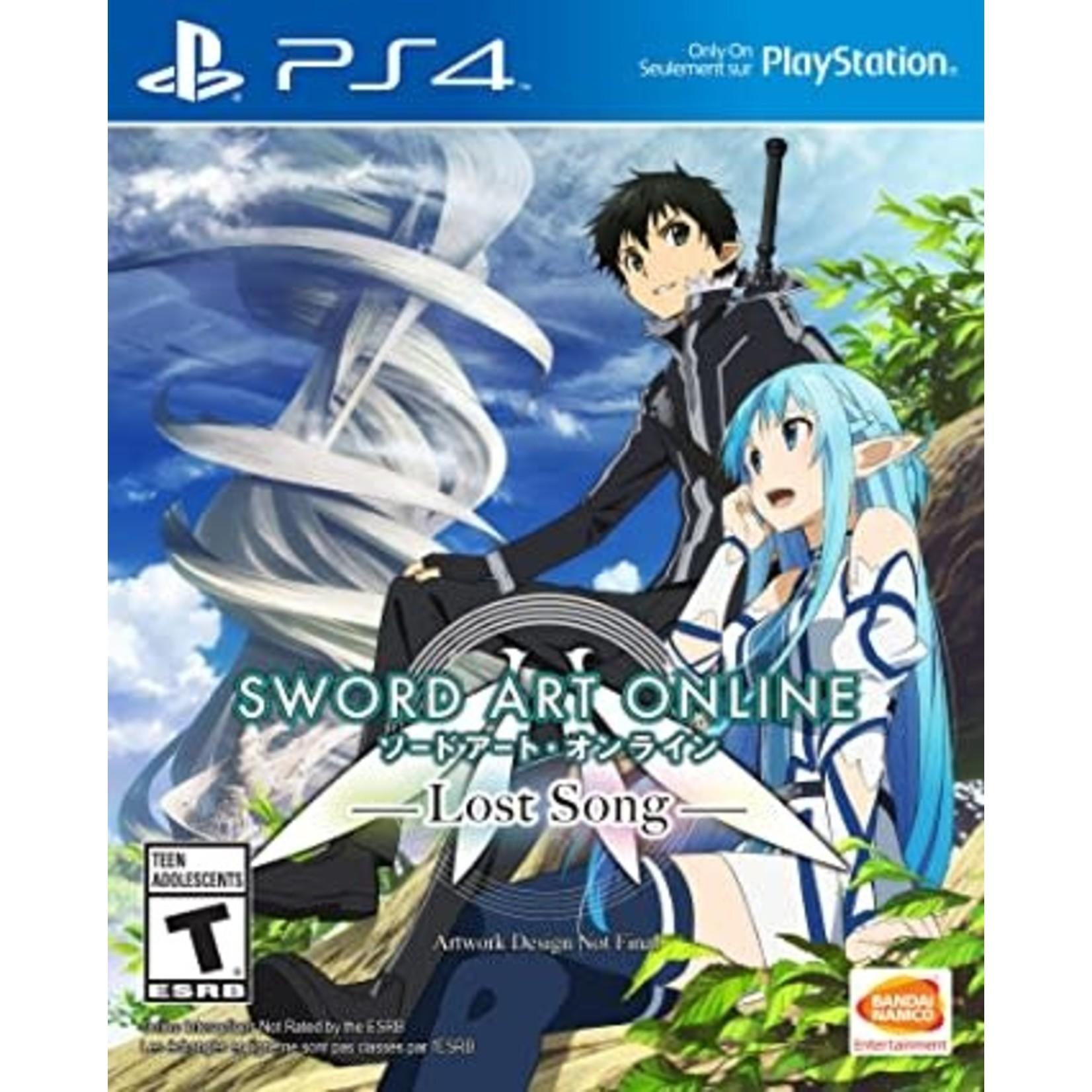 PS4-SWORD ART ONLINE: LOST SONG