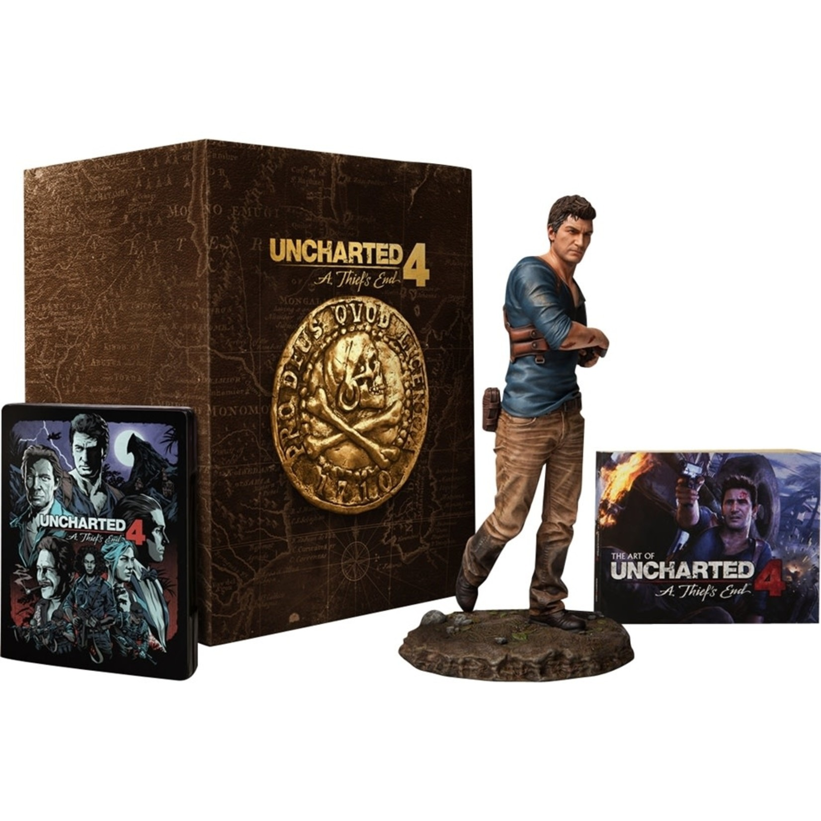 PS4-Uncharted 4 Libertalia Collector's Edition