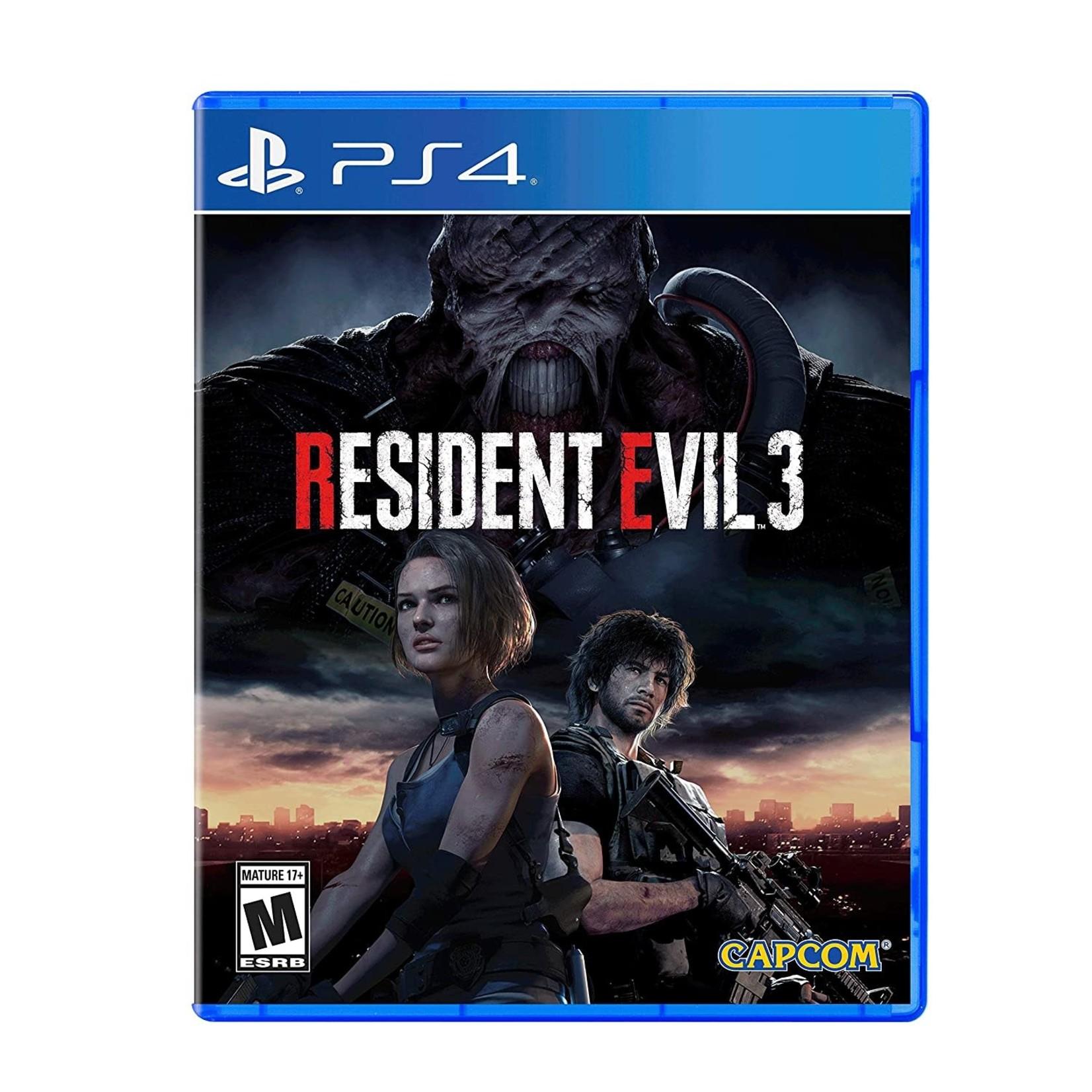 ps4u-Resident Evil 3 Remake