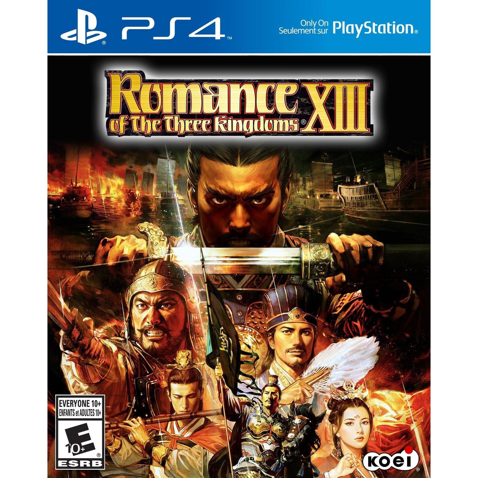 PS4U-Romance of the Three Kingdoms XIII