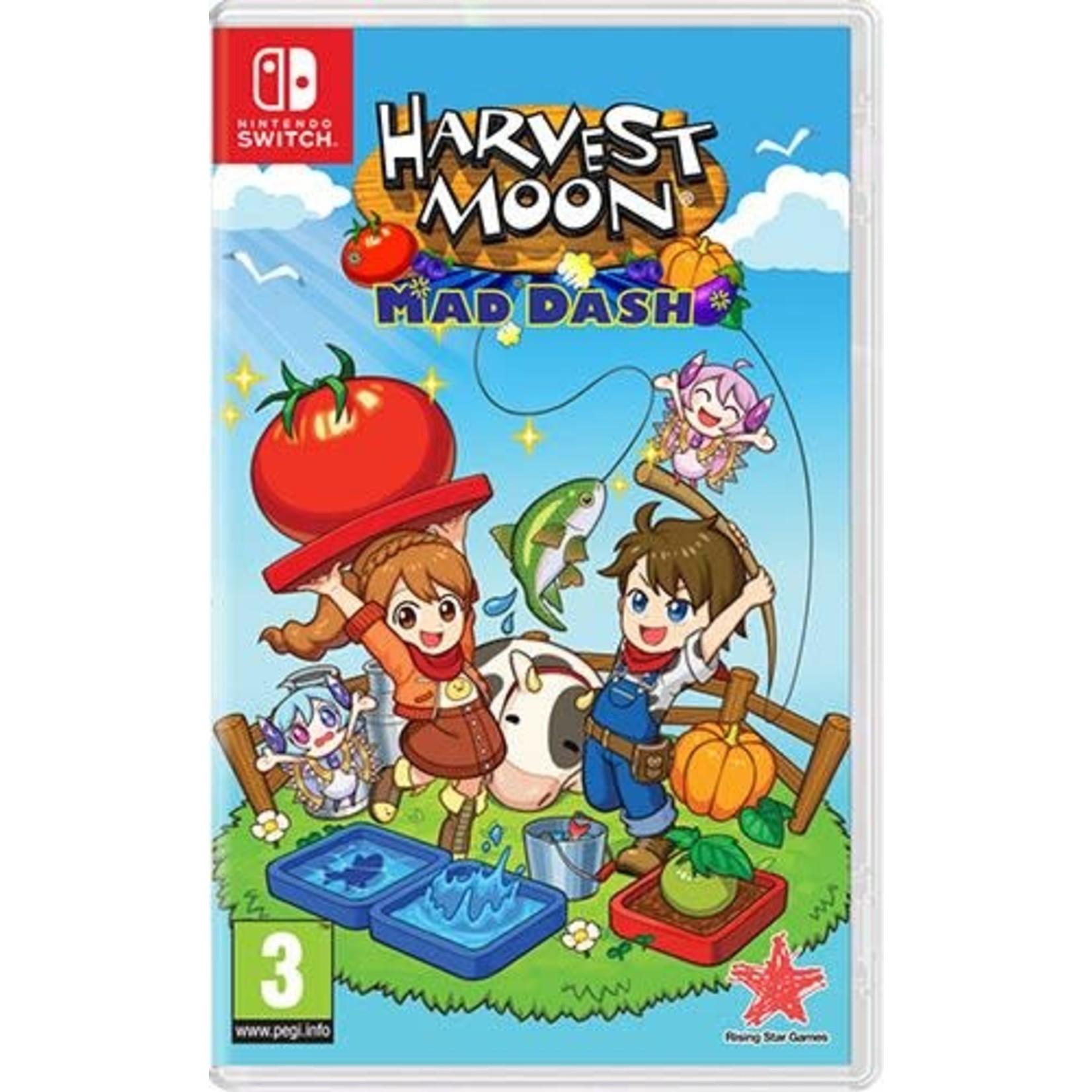 Switch-Harvest Moon: MAD DASH