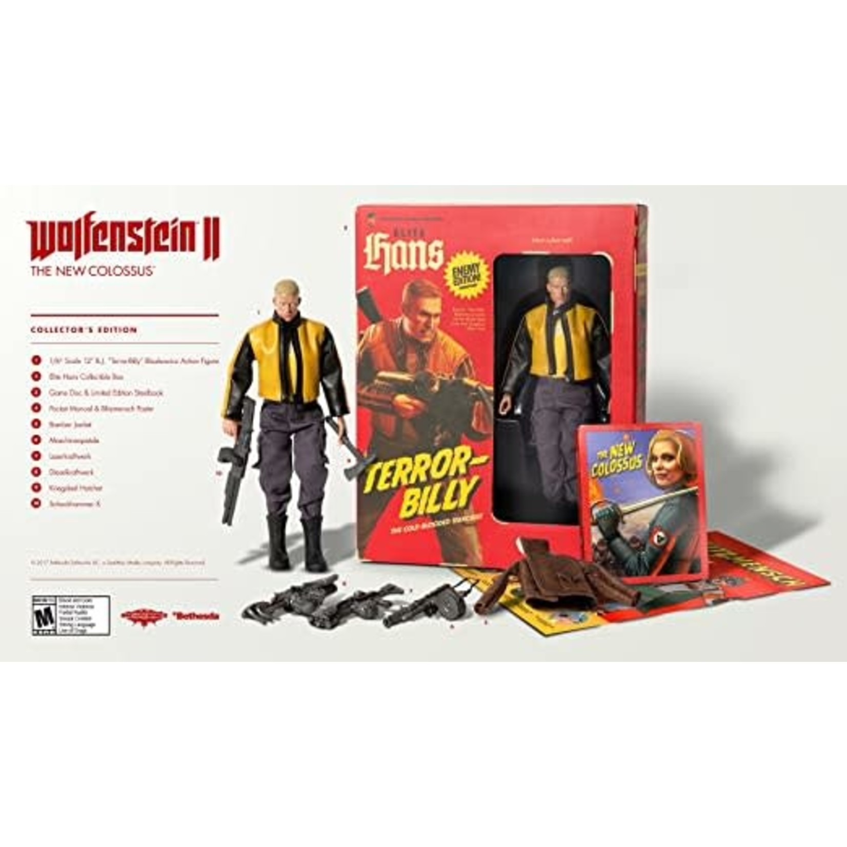 PS4-Wolfenstein 2 The New Colossus Collector's Edition