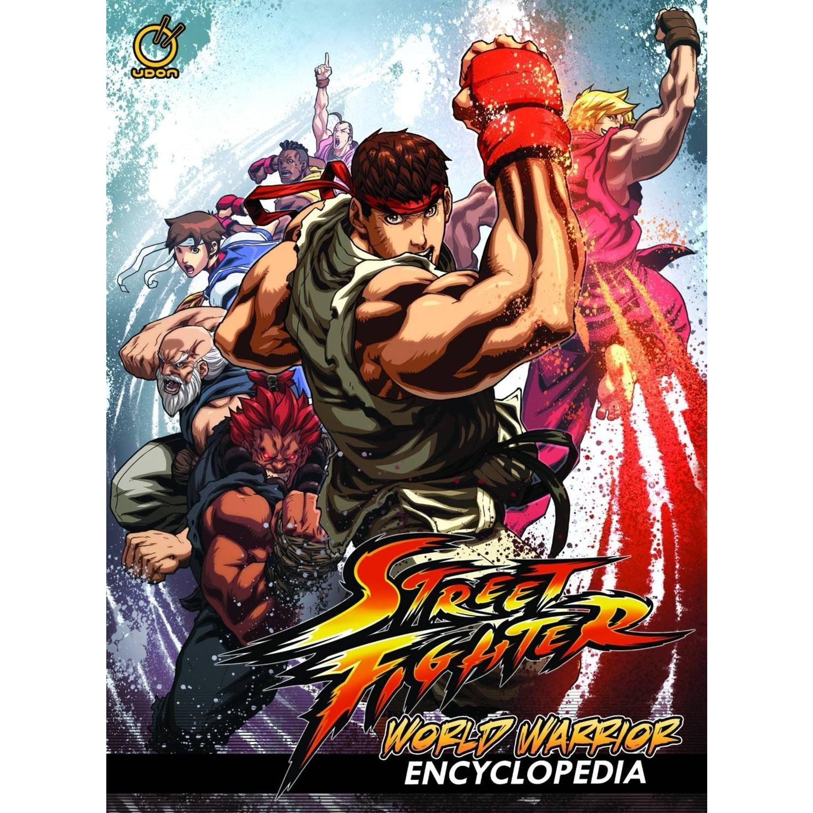 Street Fighter: World Warrior Encyclopedia Hardcover Street fighter-Udon Capcom