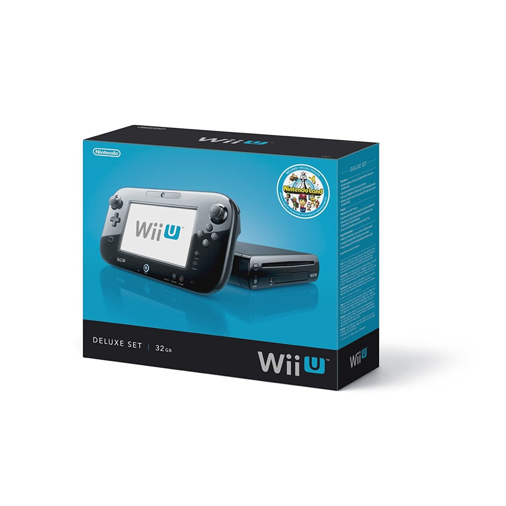 SYSTEM-Used Wii U (In Box)
