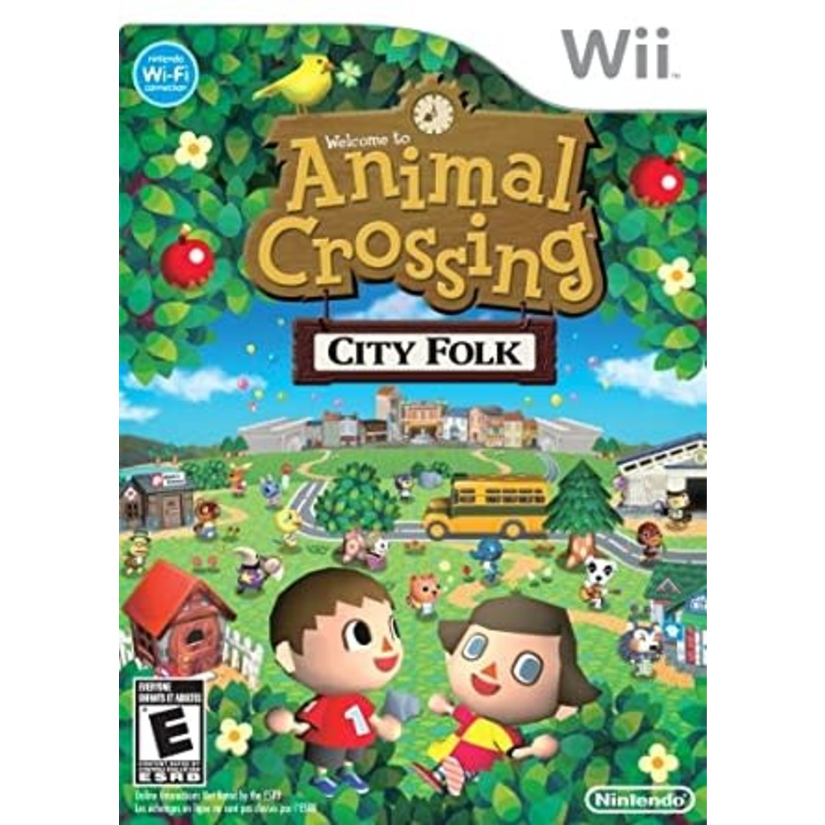 WIIUSD-Animal Crossing City Folk