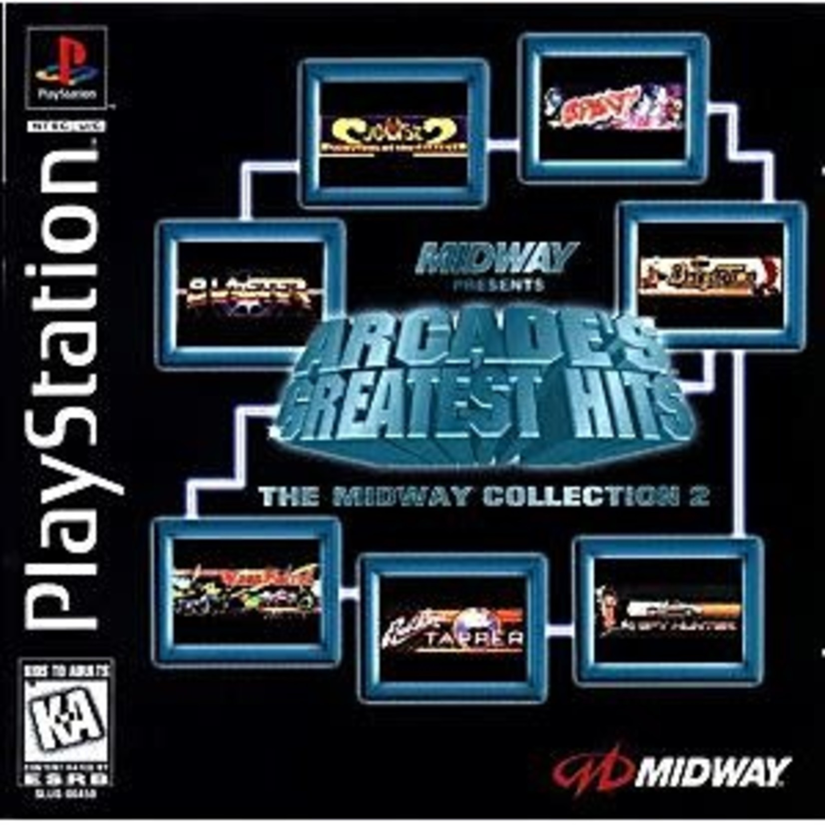 PS1U-Arcade's Greatest Hits Midway Collection 2