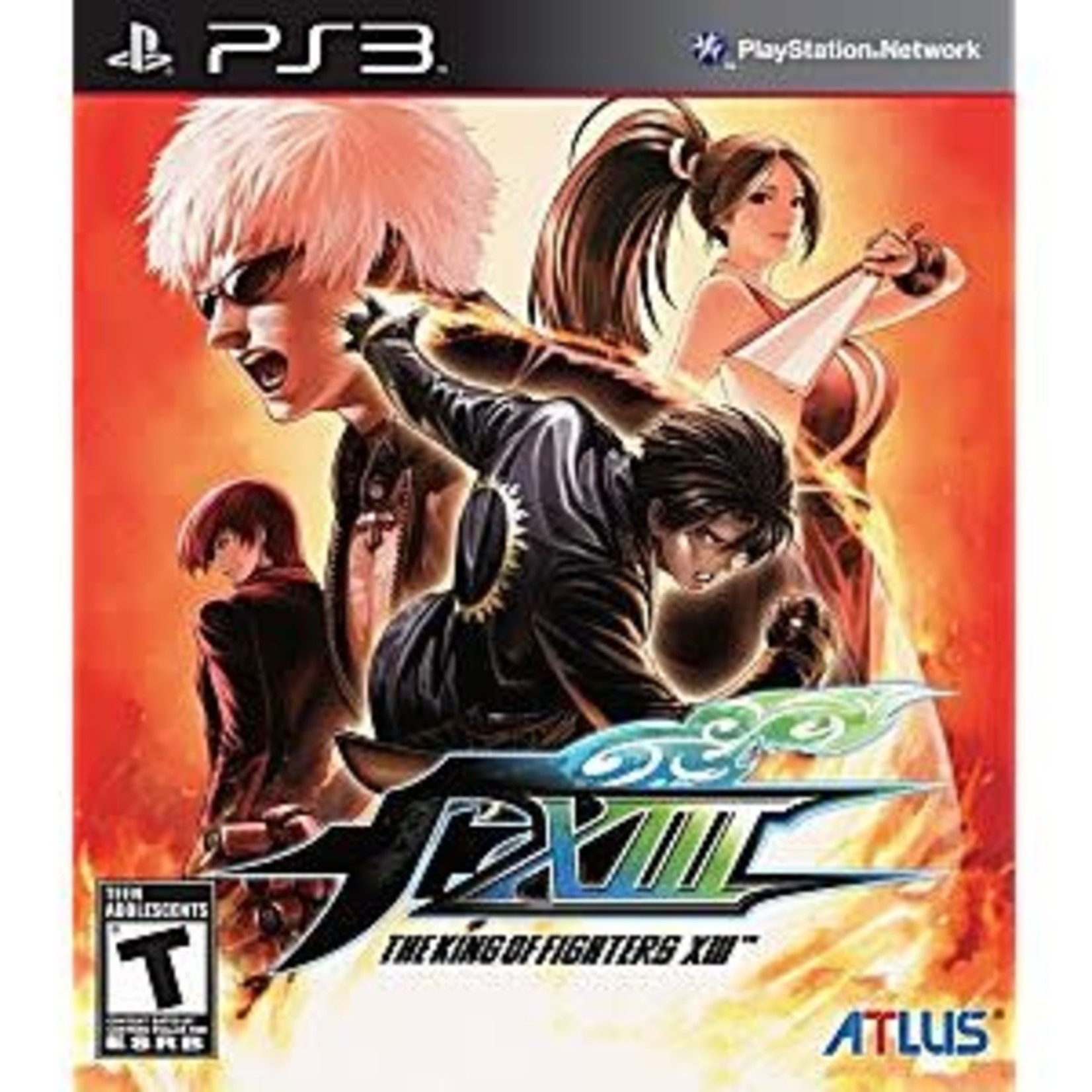 PS3U-King of Fighters XIII
