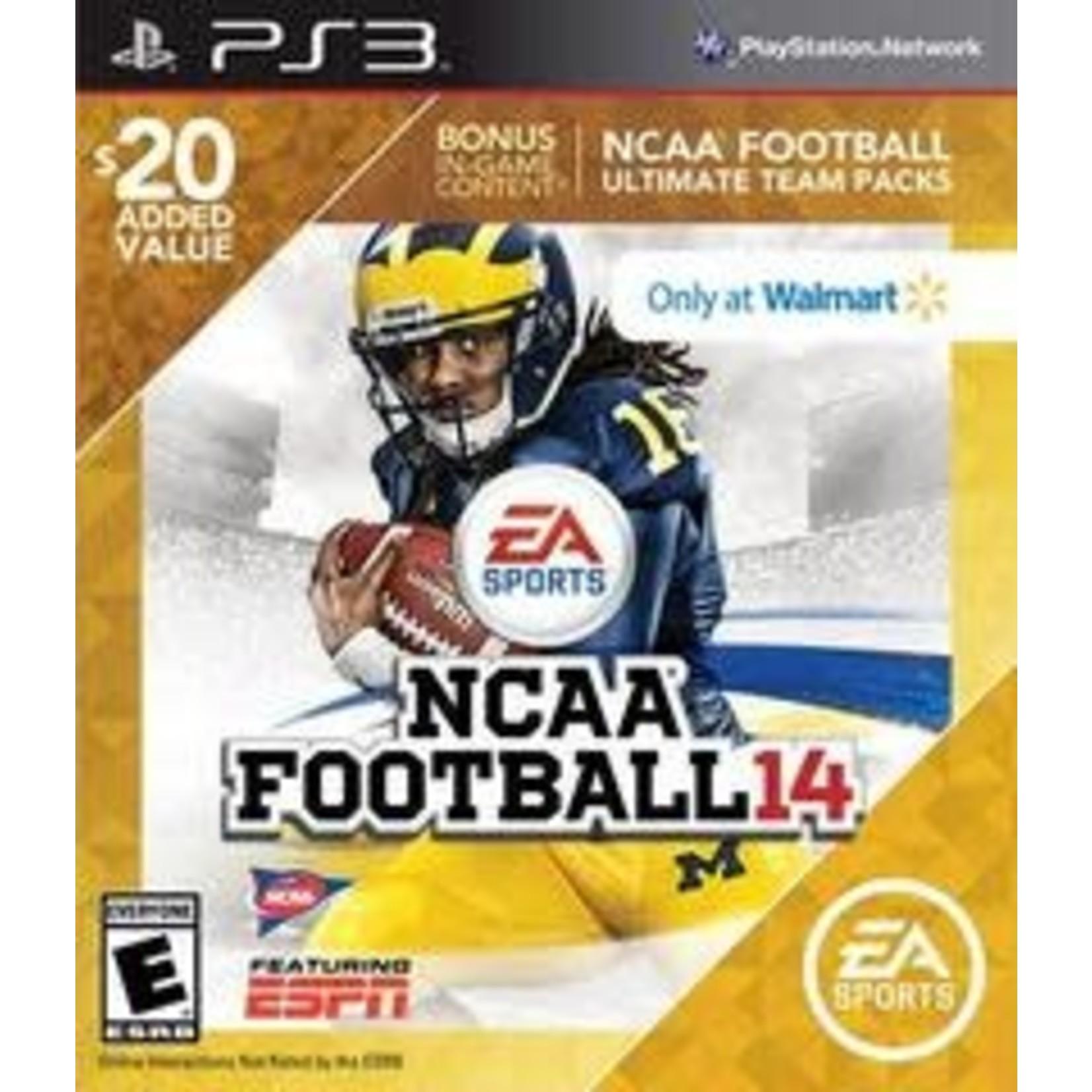 PS3U-NCAA Football 14 [Walmart Edition]