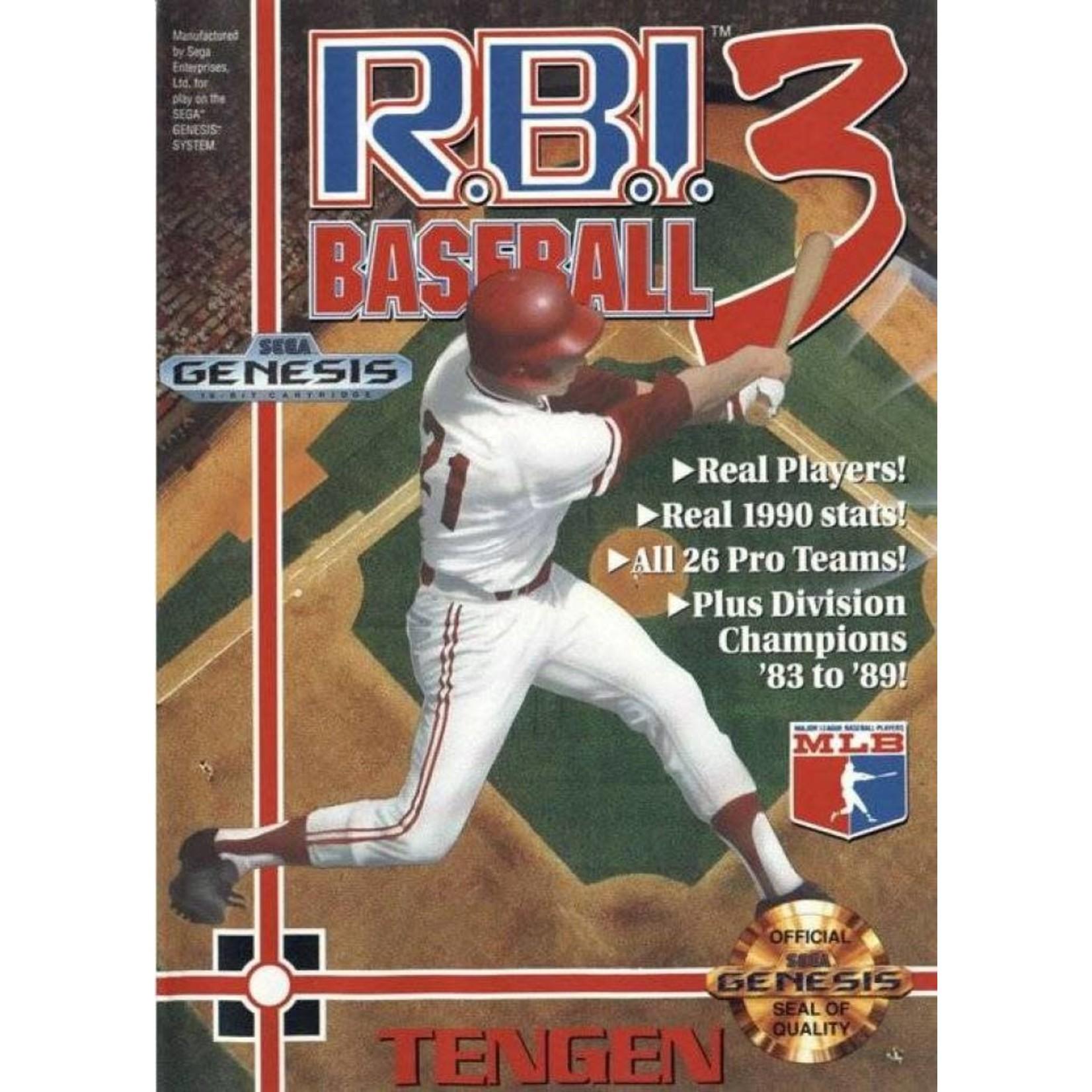 NESU-R.B.I Baseball 3 TENGEN (IN BOX)