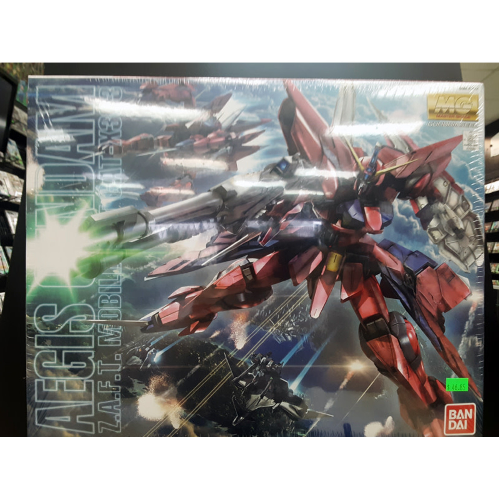 """GUNDAM-MG Aegis Gundam """"Gundam SEED"""""""