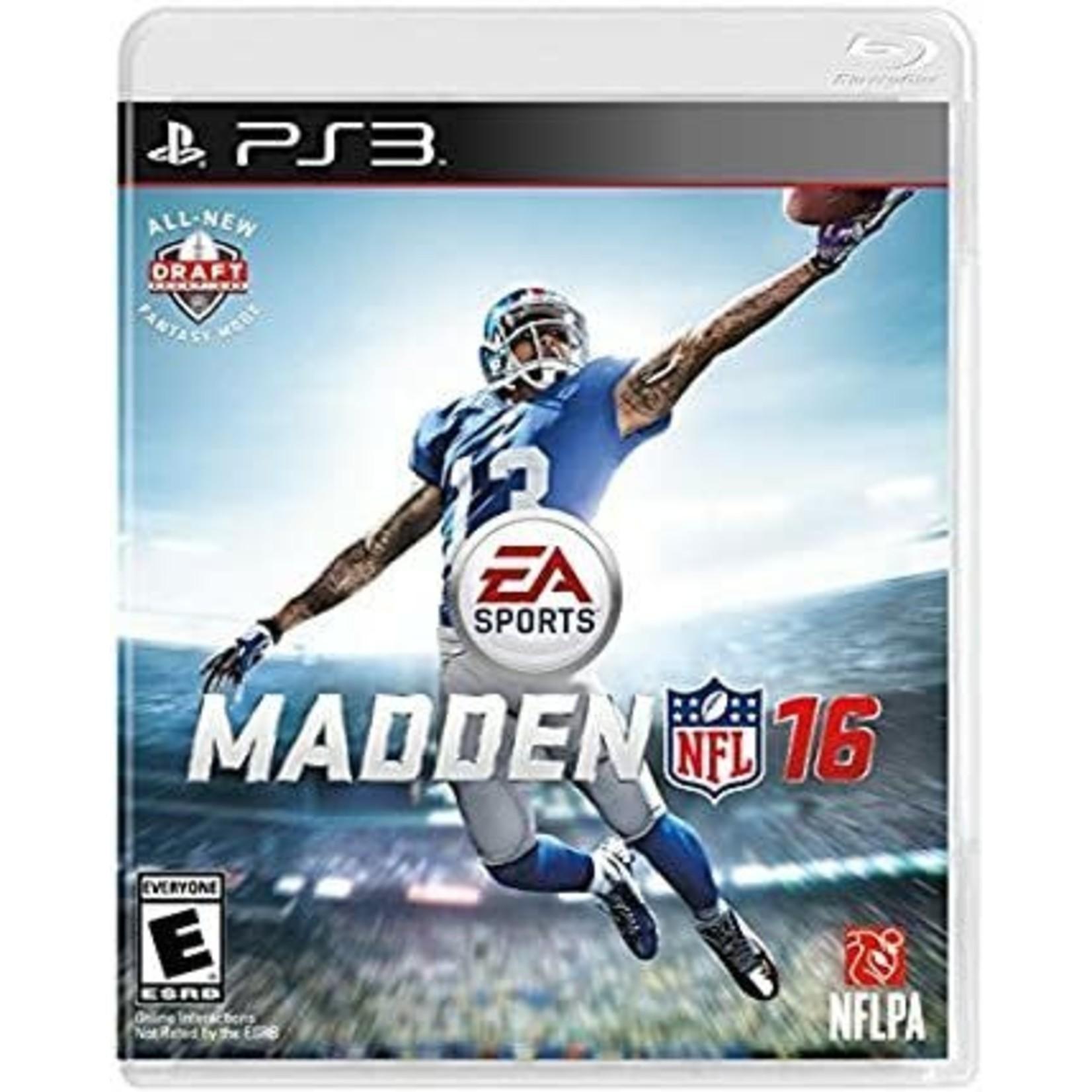 PS3U-Madden NFL 16