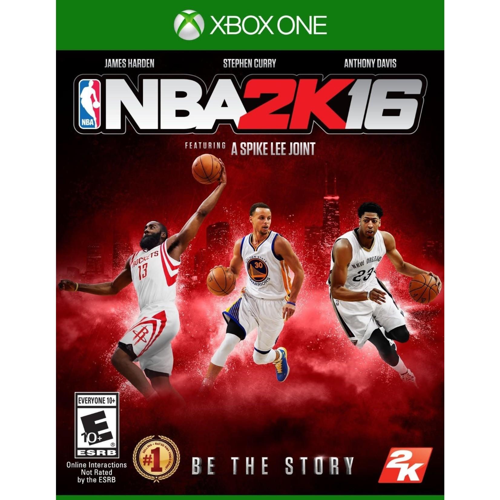 XB1U-NBA 2K16
