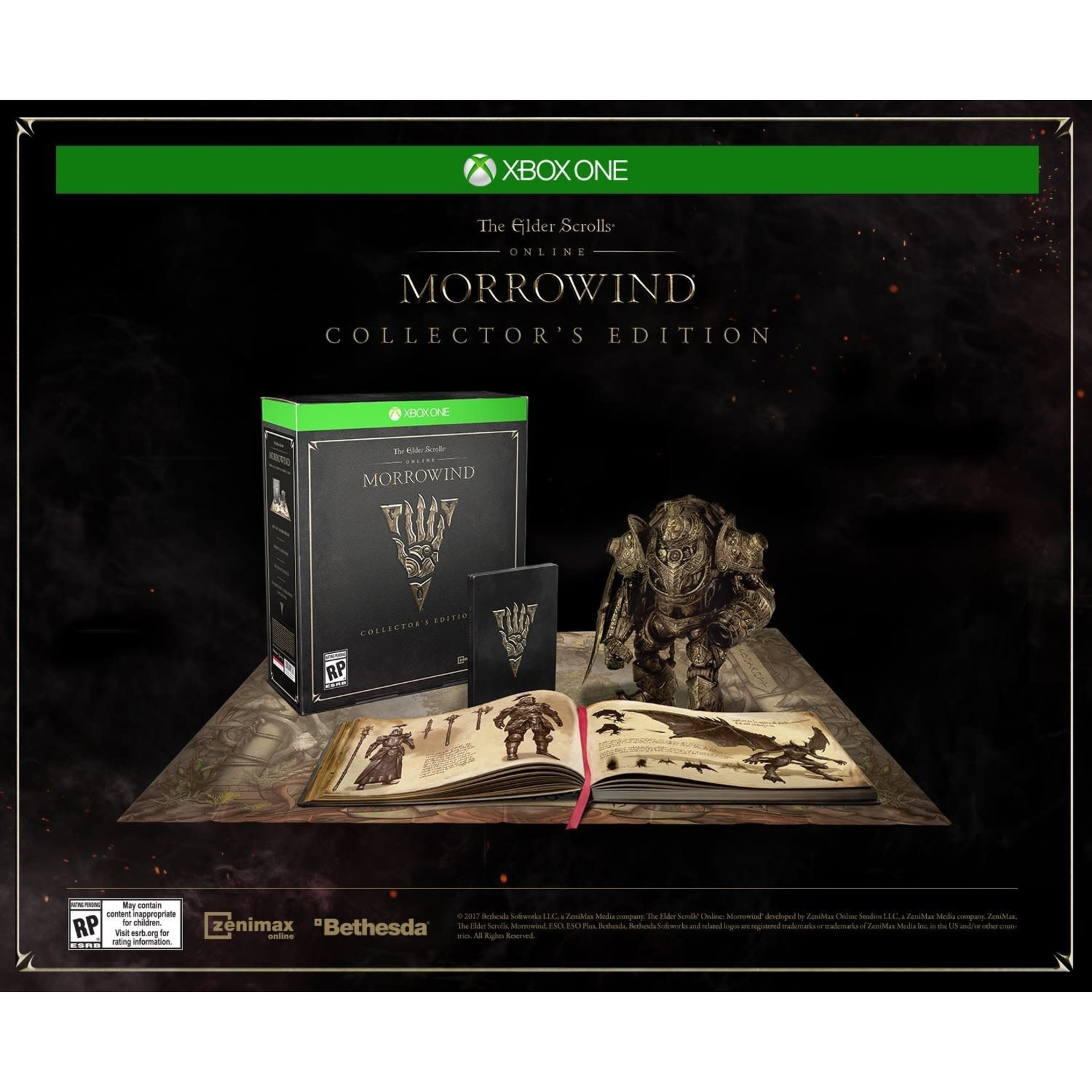 XB1-Elder Scrolls Online: Morrowind Collectors Edition
