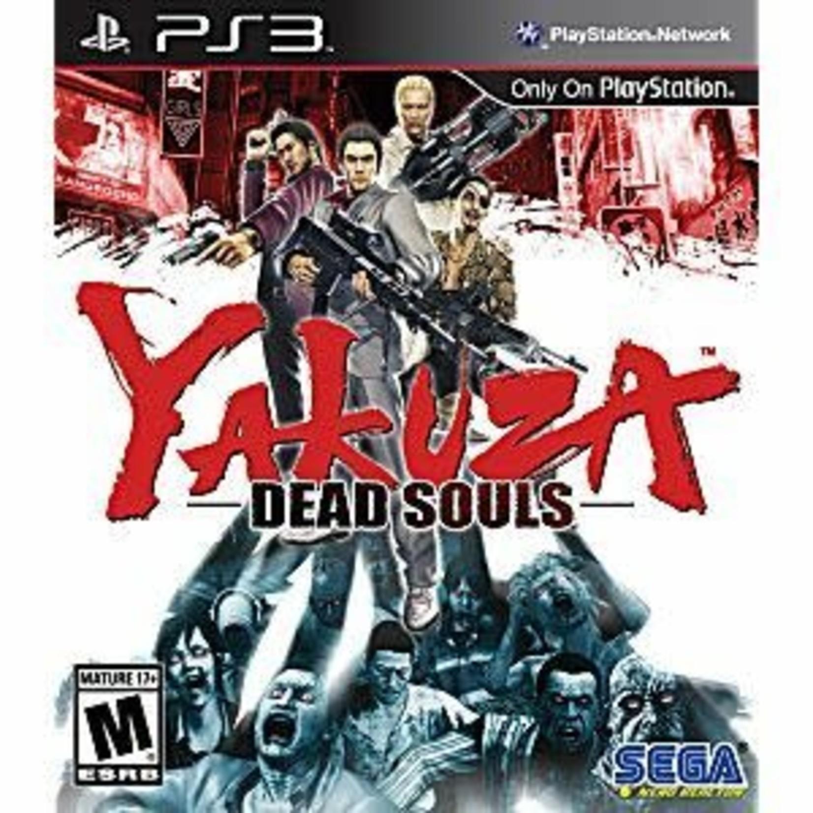 PS3U-YAKUZA DEAD SOULS