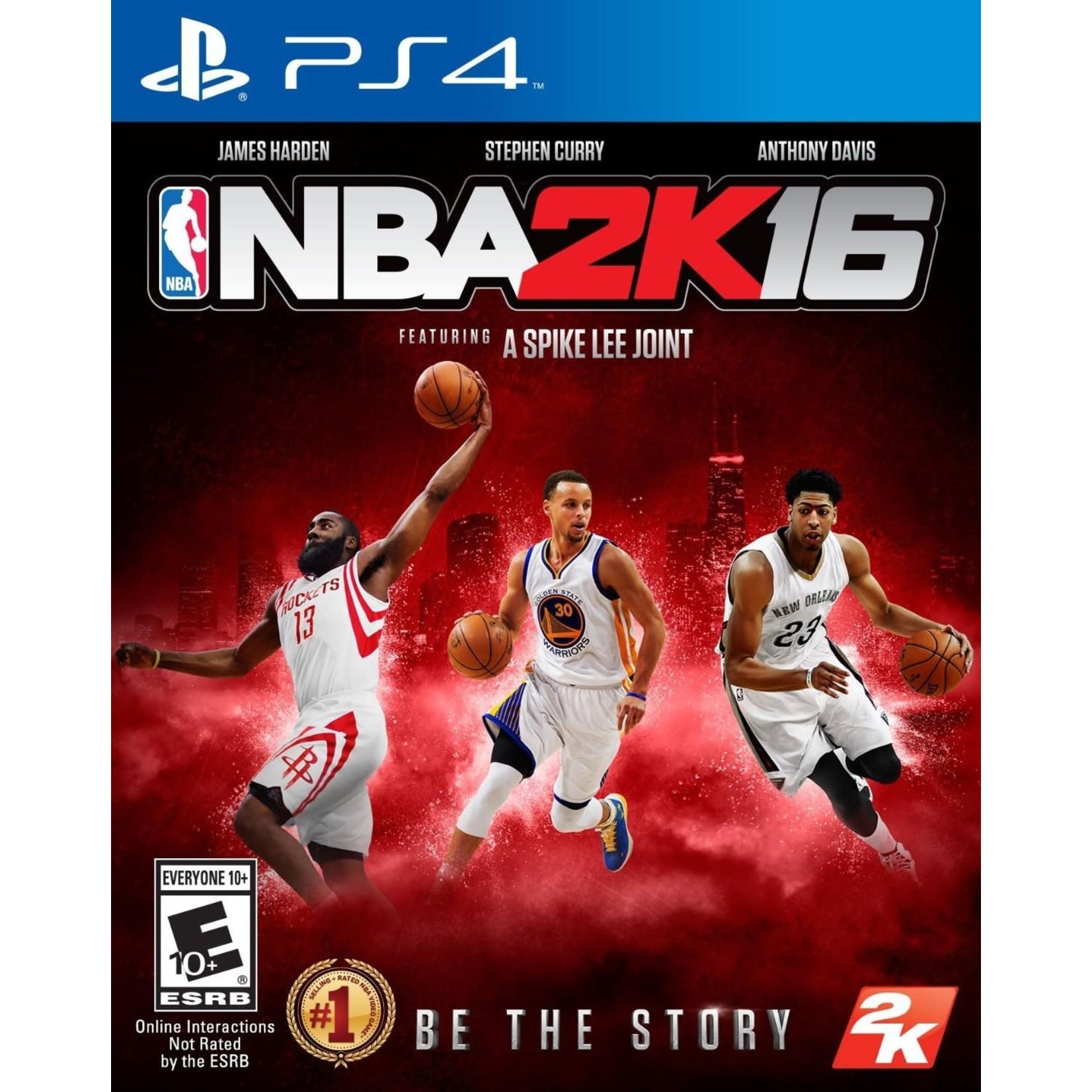 PS4U-NBA 2K16