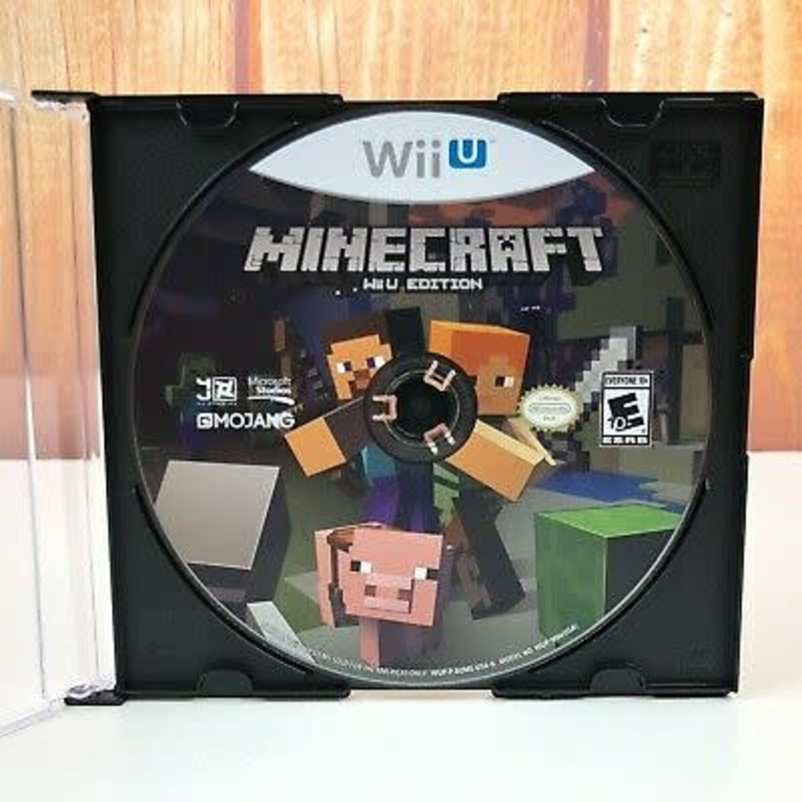 WIIUSD-MINECRAFT (DISC ONLY)