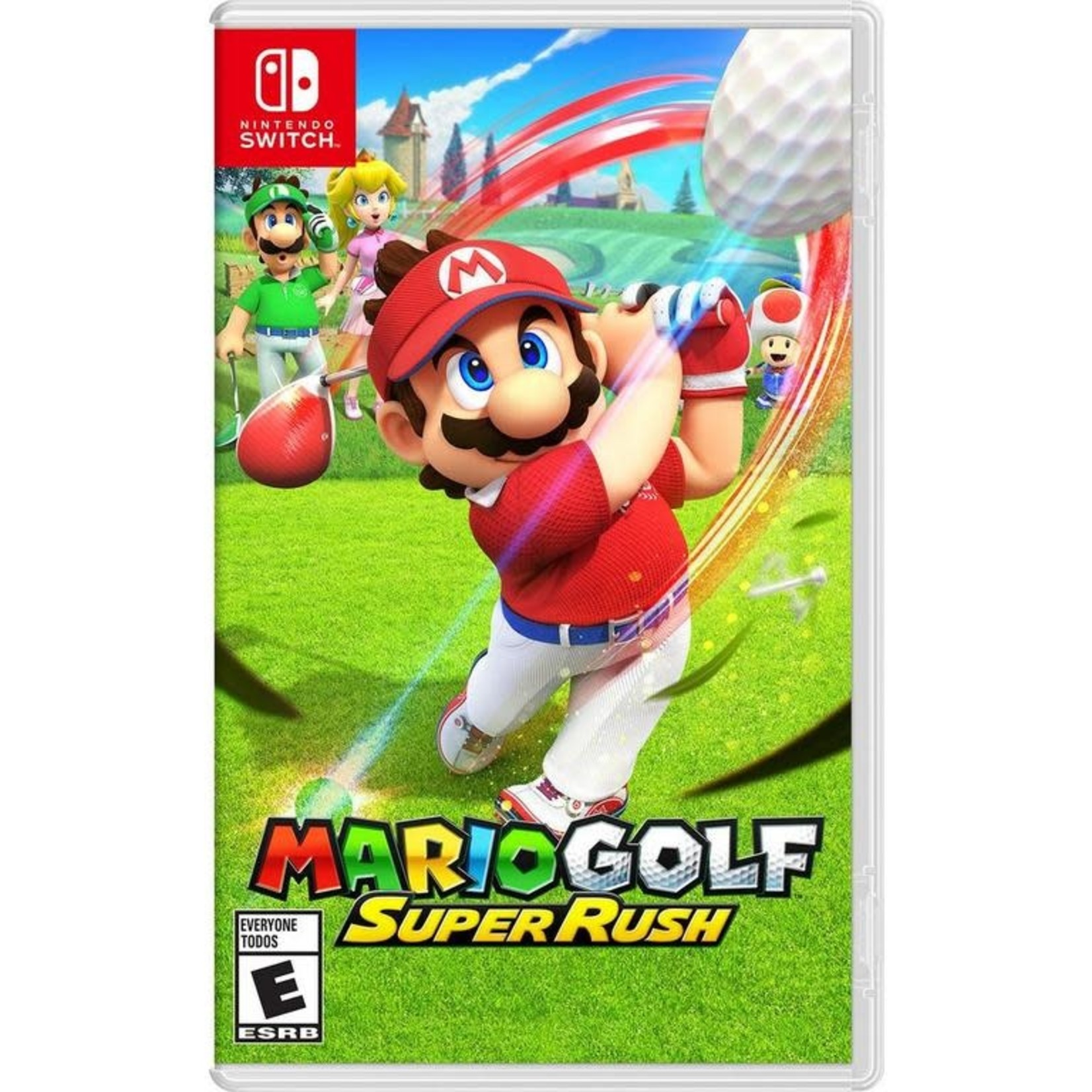 SWITCH-Mario Golf: Super Rush