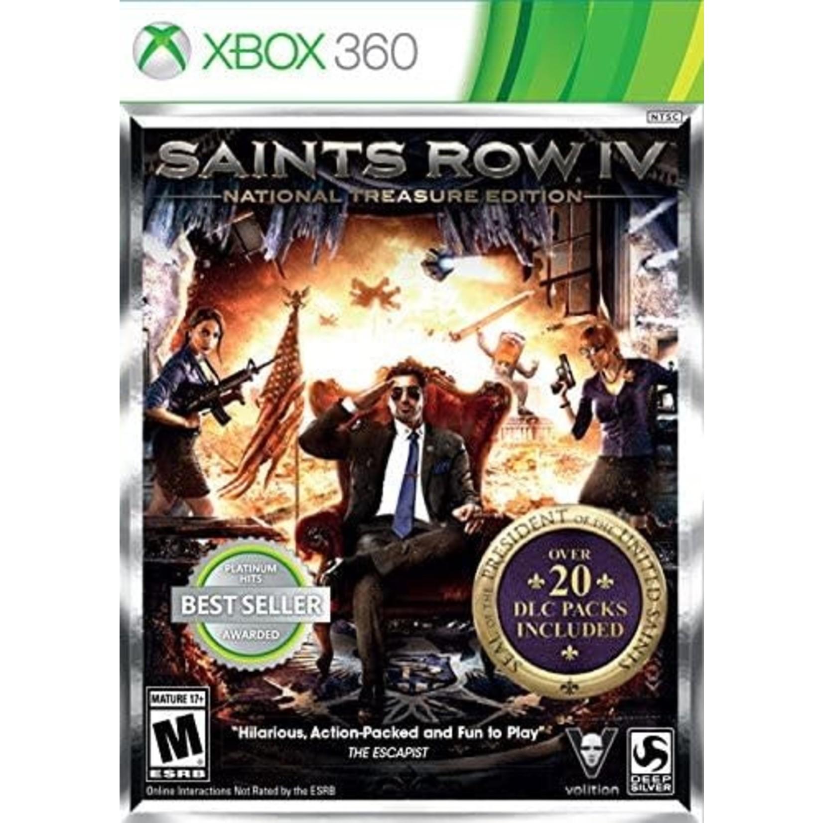 X3U-Saints Row IV National Treasure Edition
