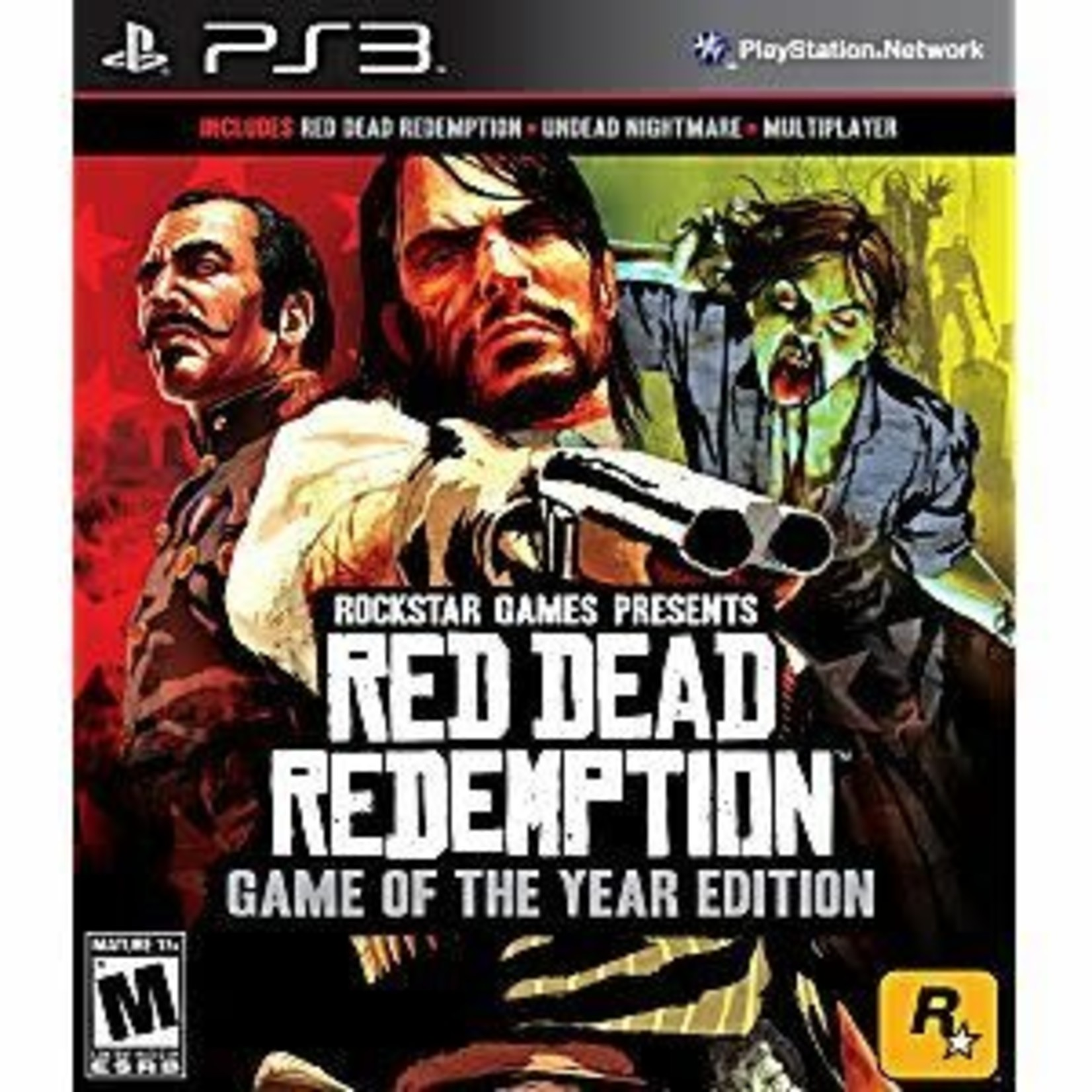 PS3-Red Dead Redemption Game of the Year Edition