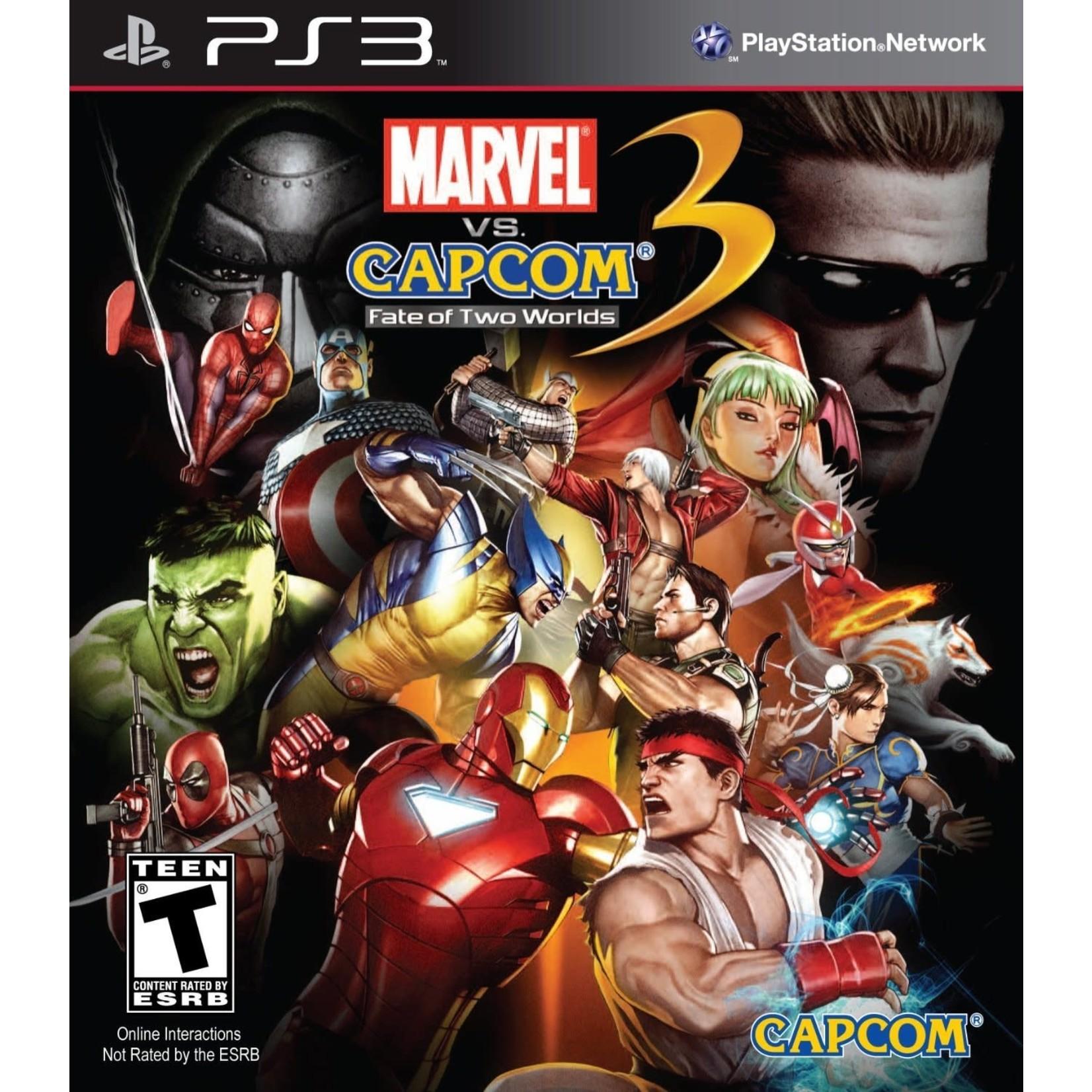 PS3U-Marvel vs. Capcom 3: Fate of Two Worlds