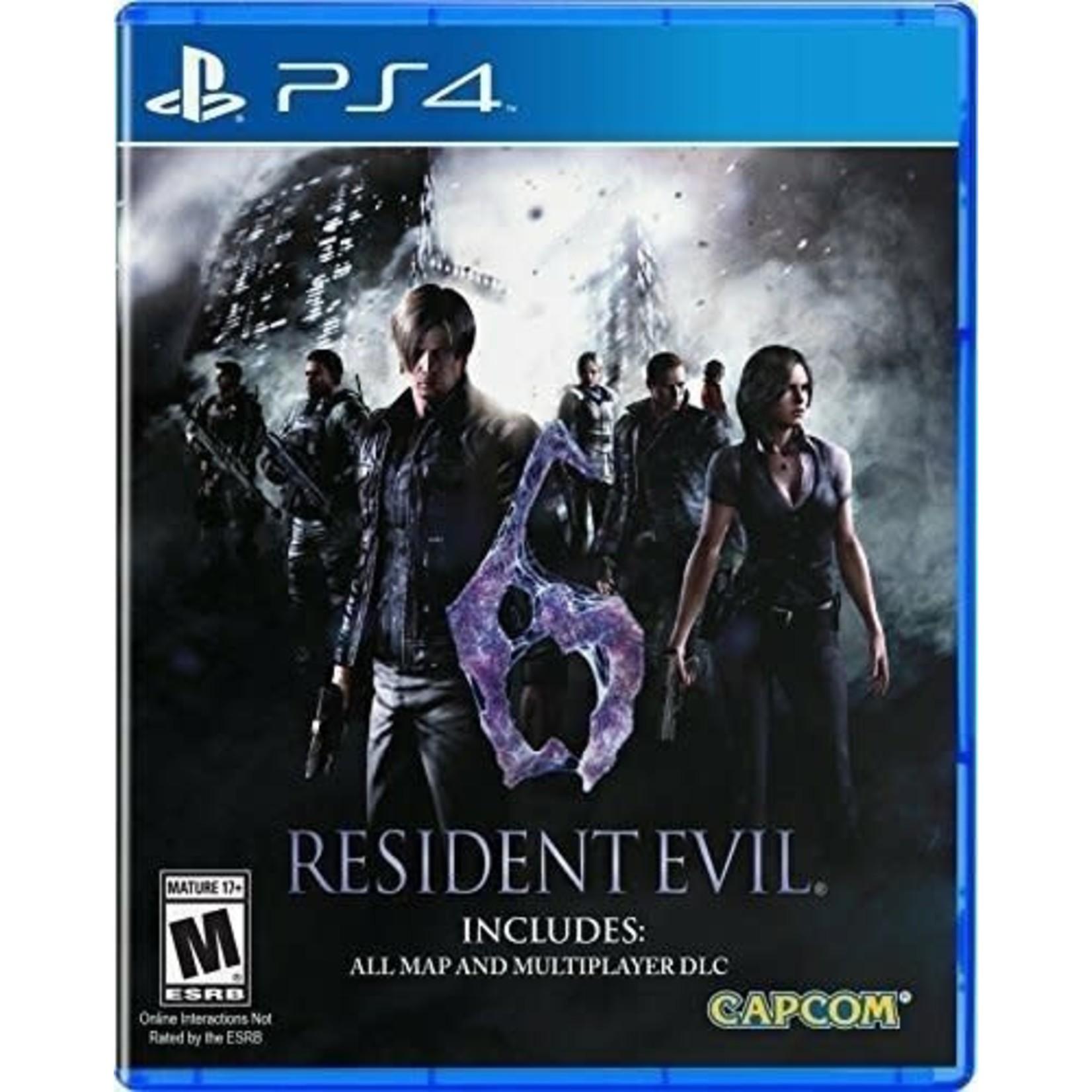 PS4-Resident Evil 6 HD