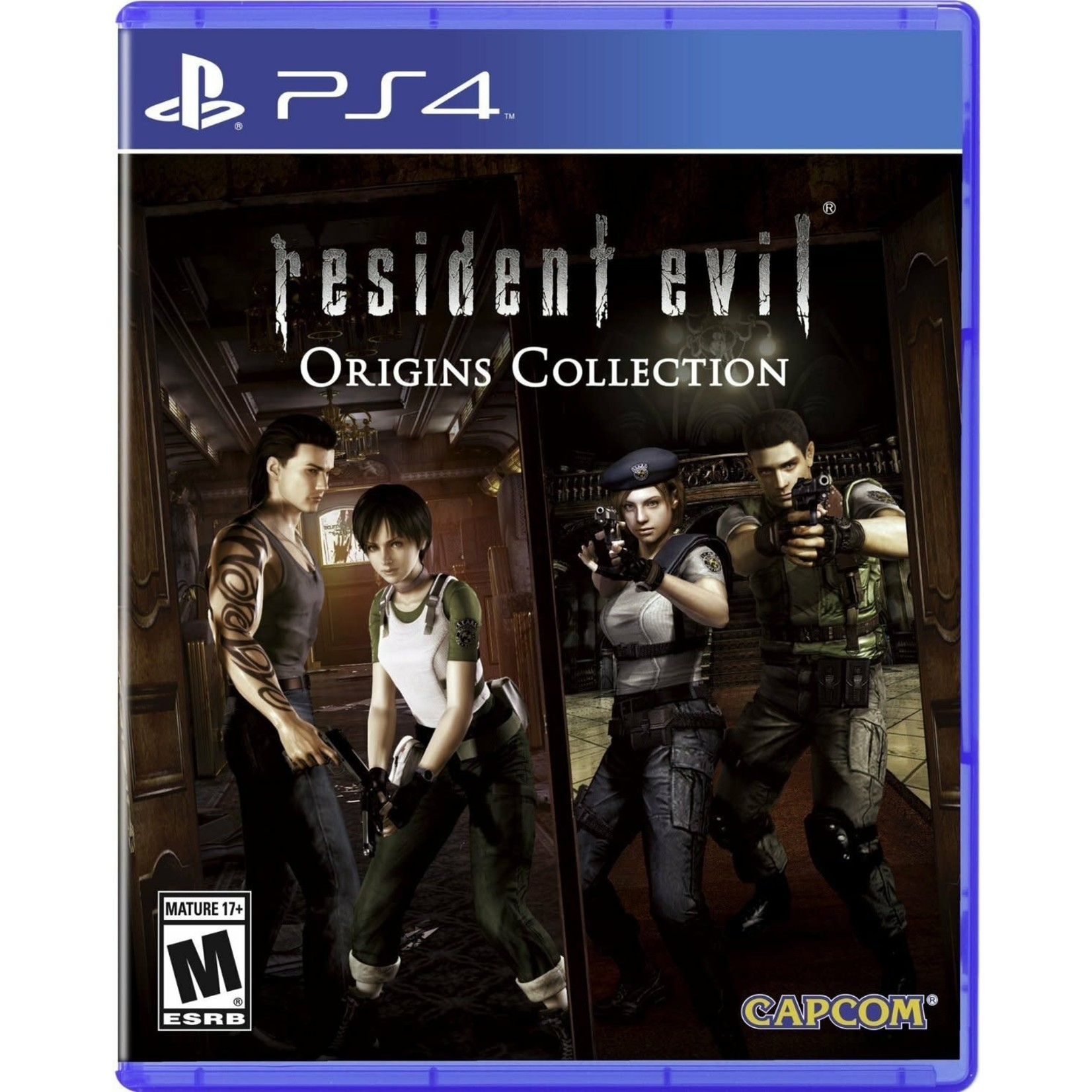 PS4-Resident Evil Origins Collection