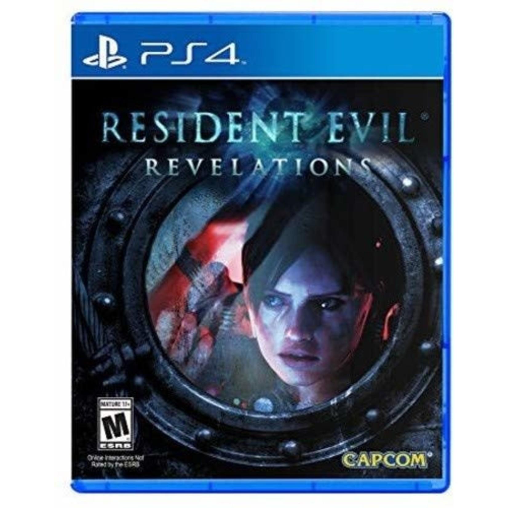 PS4-Resident Evil Revelations