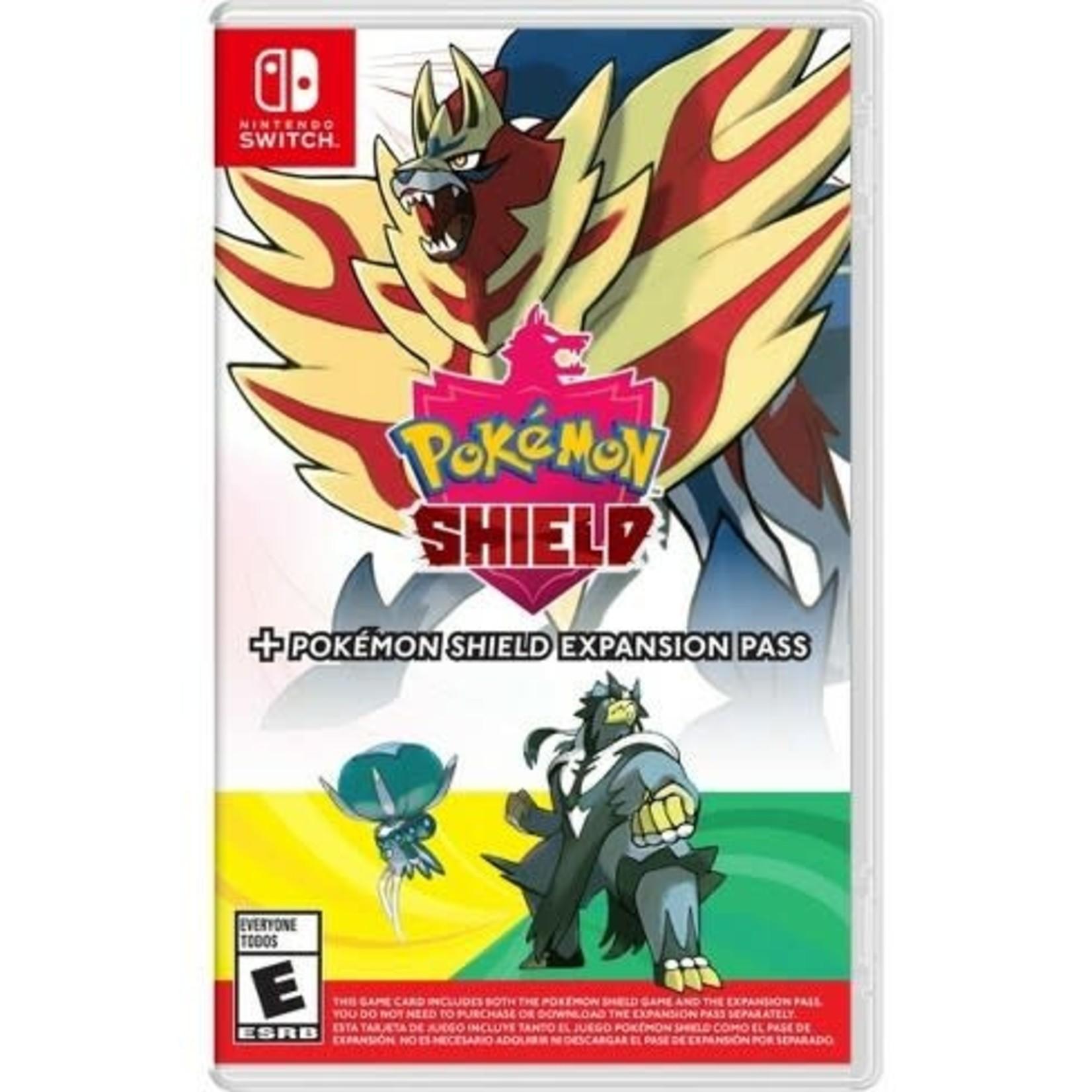 SWITCHU-Pokemon Shield + Expansion Pass
