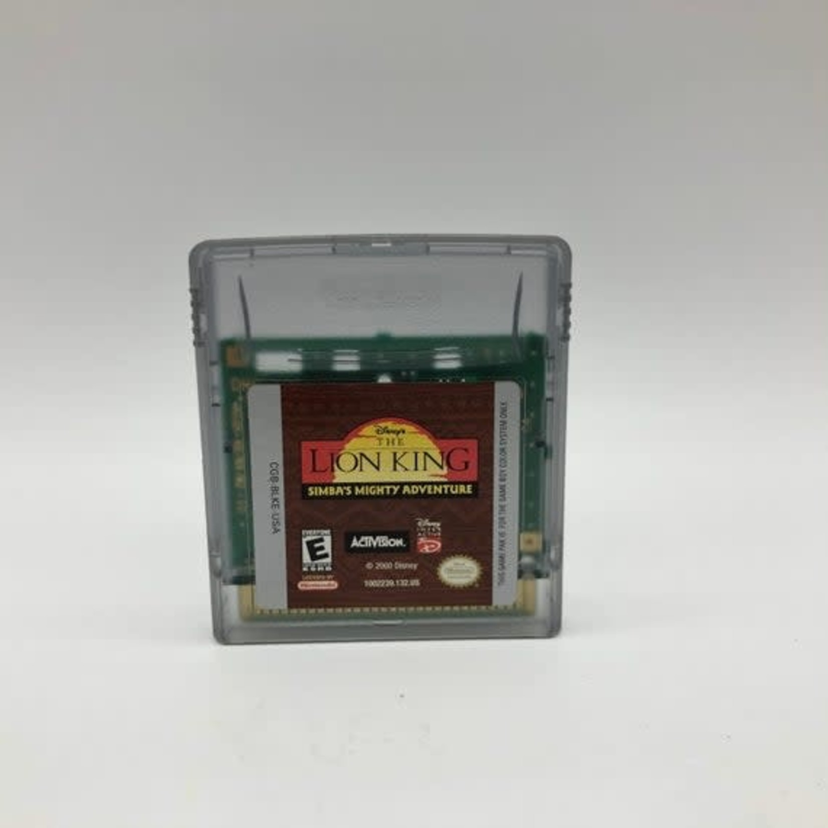 GBCU-The Lion King Simbas Mighty Adventure (Cartridge Only)