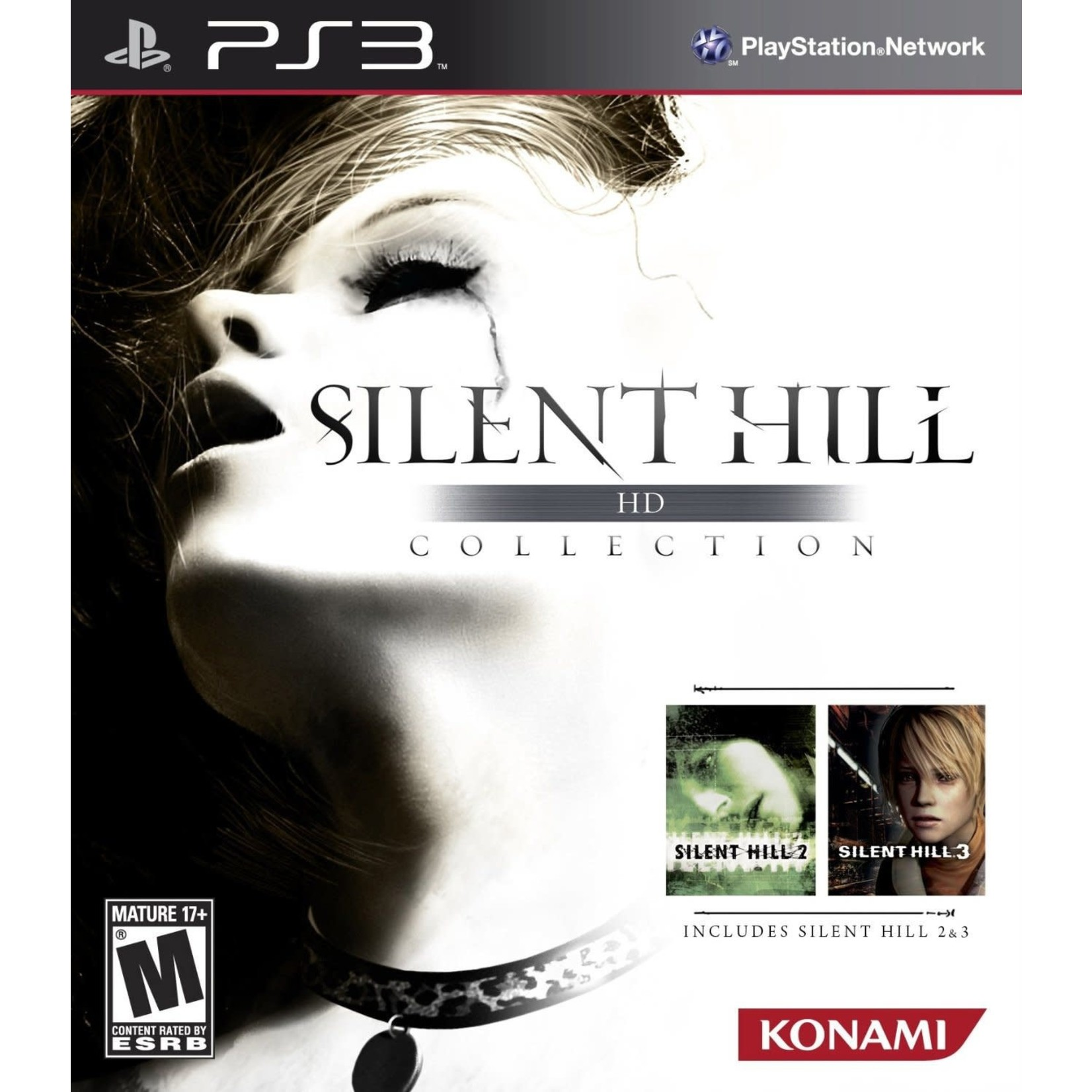 PS3-Silent Hill HD Collection