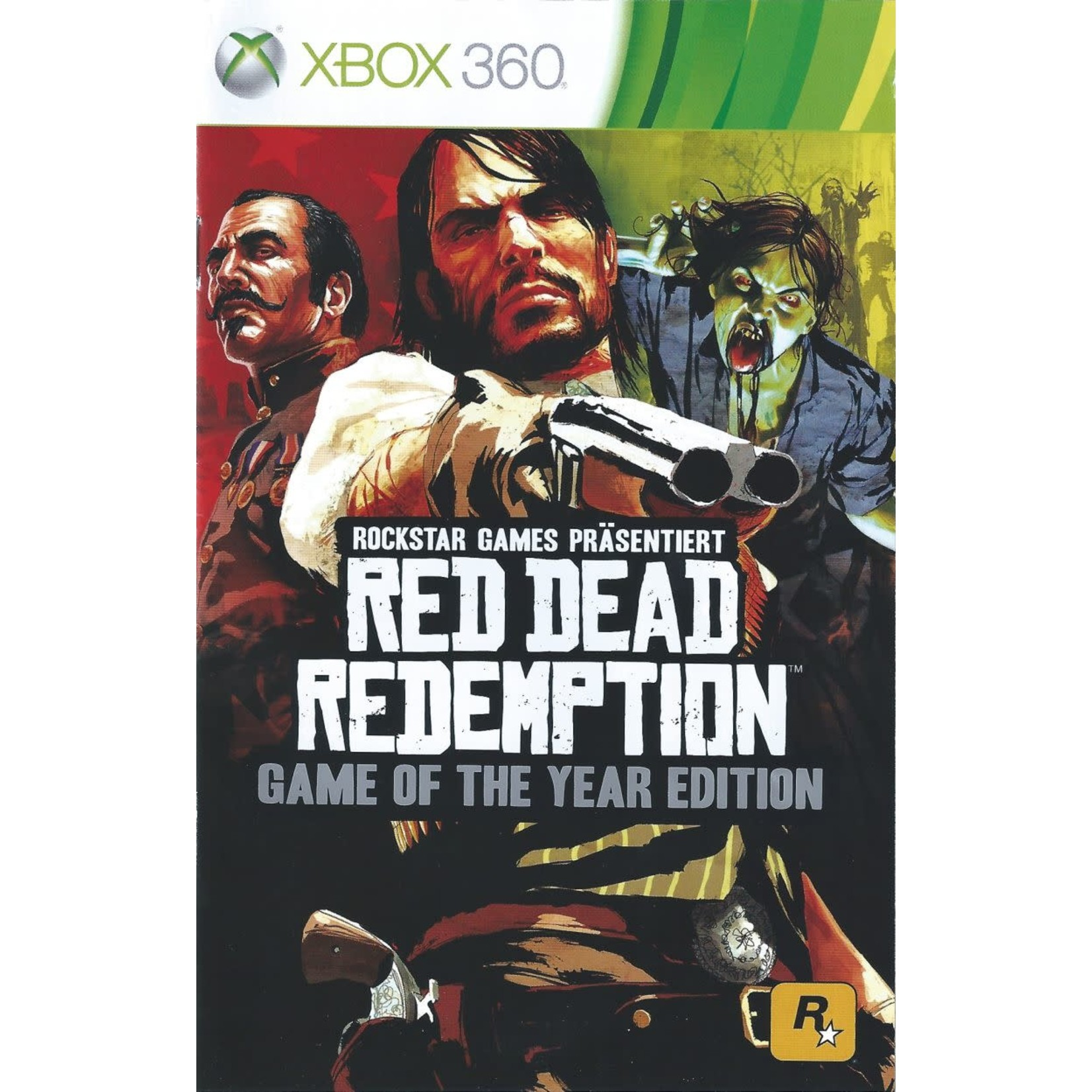 xb360-Red Dead Redemption: Game of the Year Edition