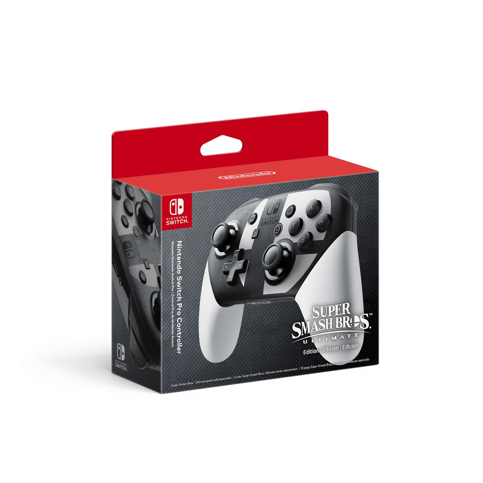 Nintendo Switch Pro Controller (Super Smash Bros)