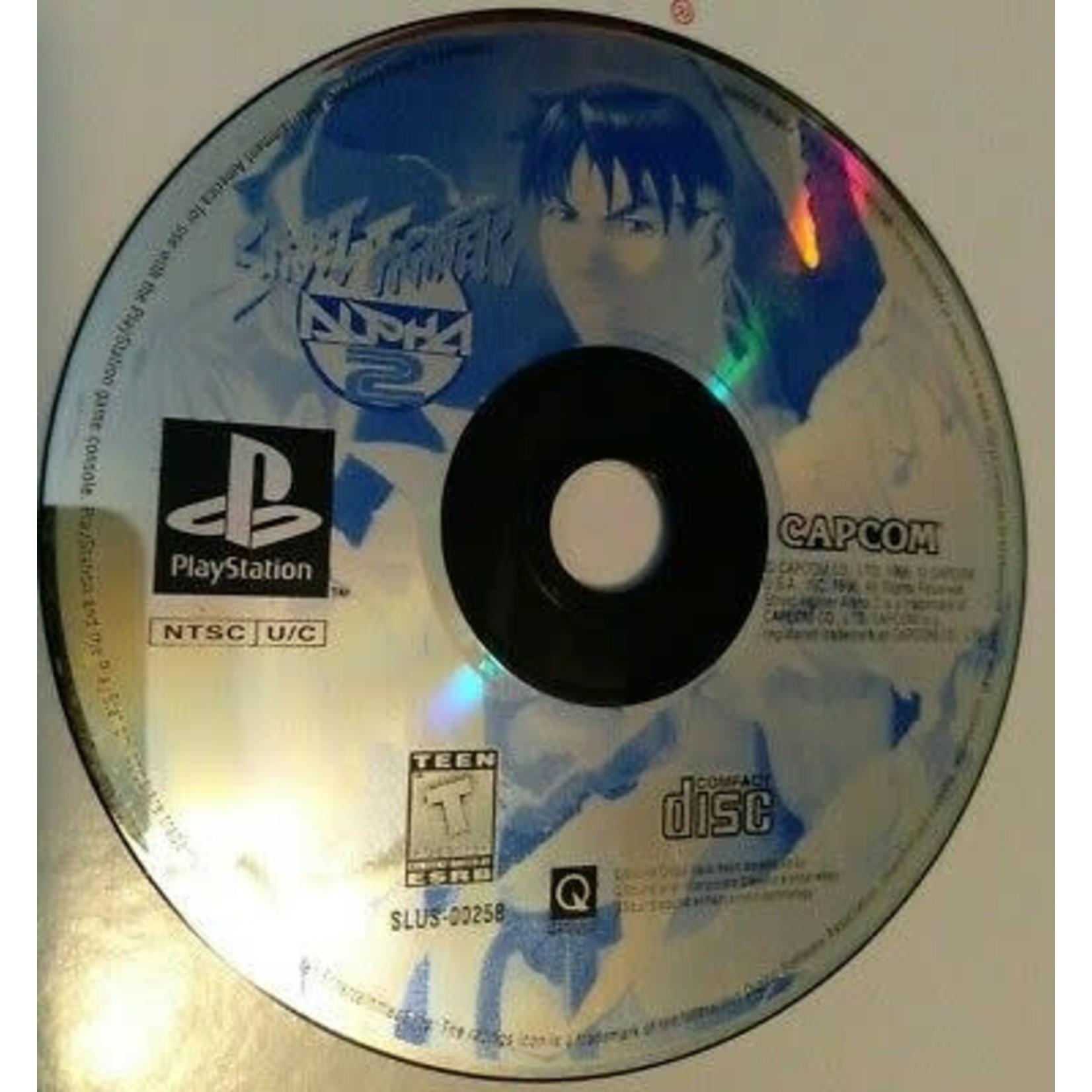 ps1u-Street Fighter Alpha 2 (no book)