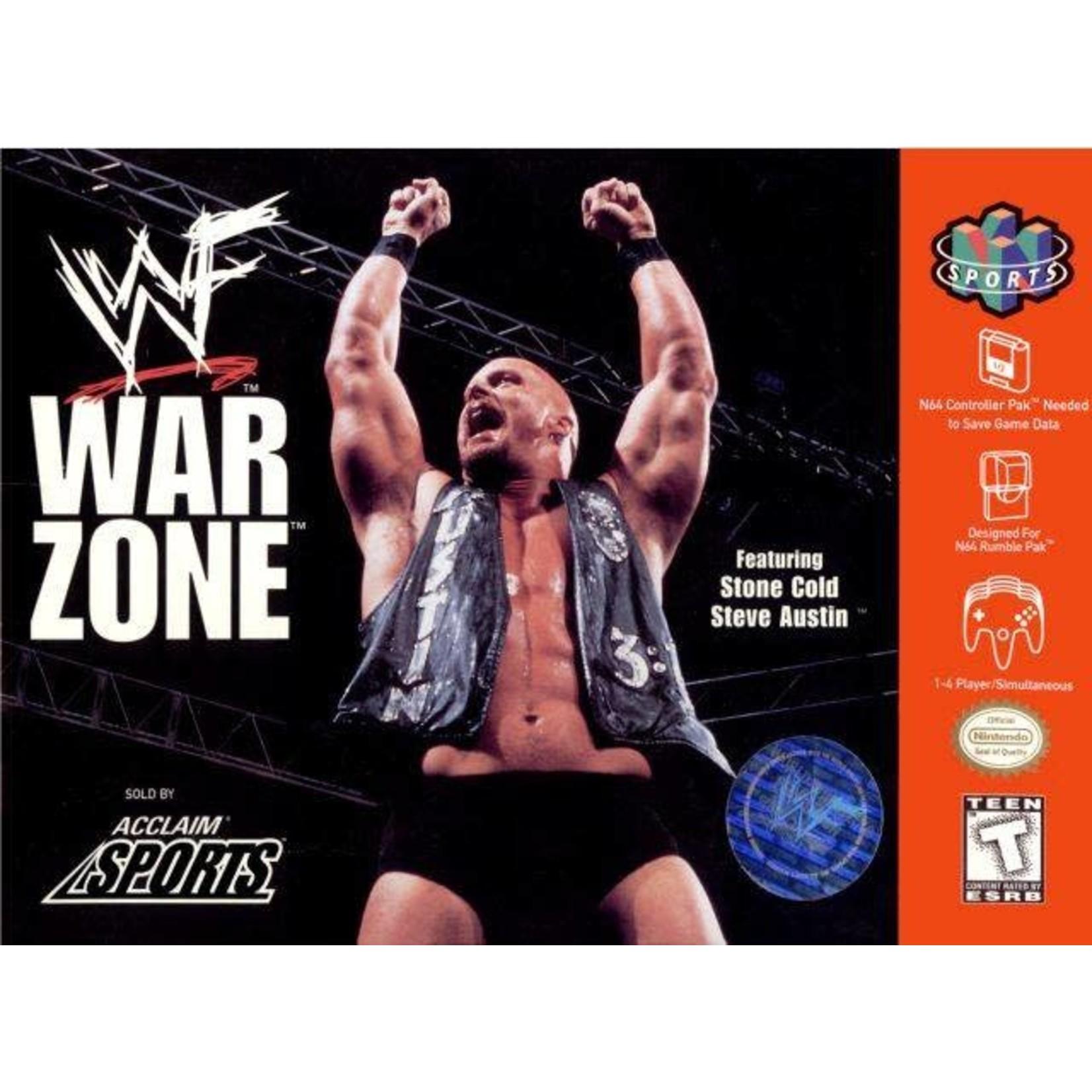 N64U-WWF War Zone (boxed)
