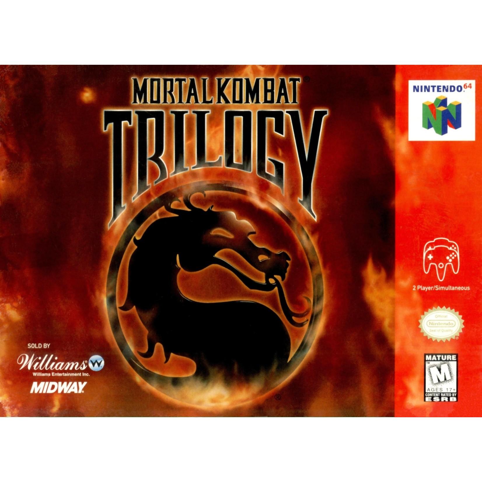 N64U-Mortal Kombat Trilogy (boxed)
