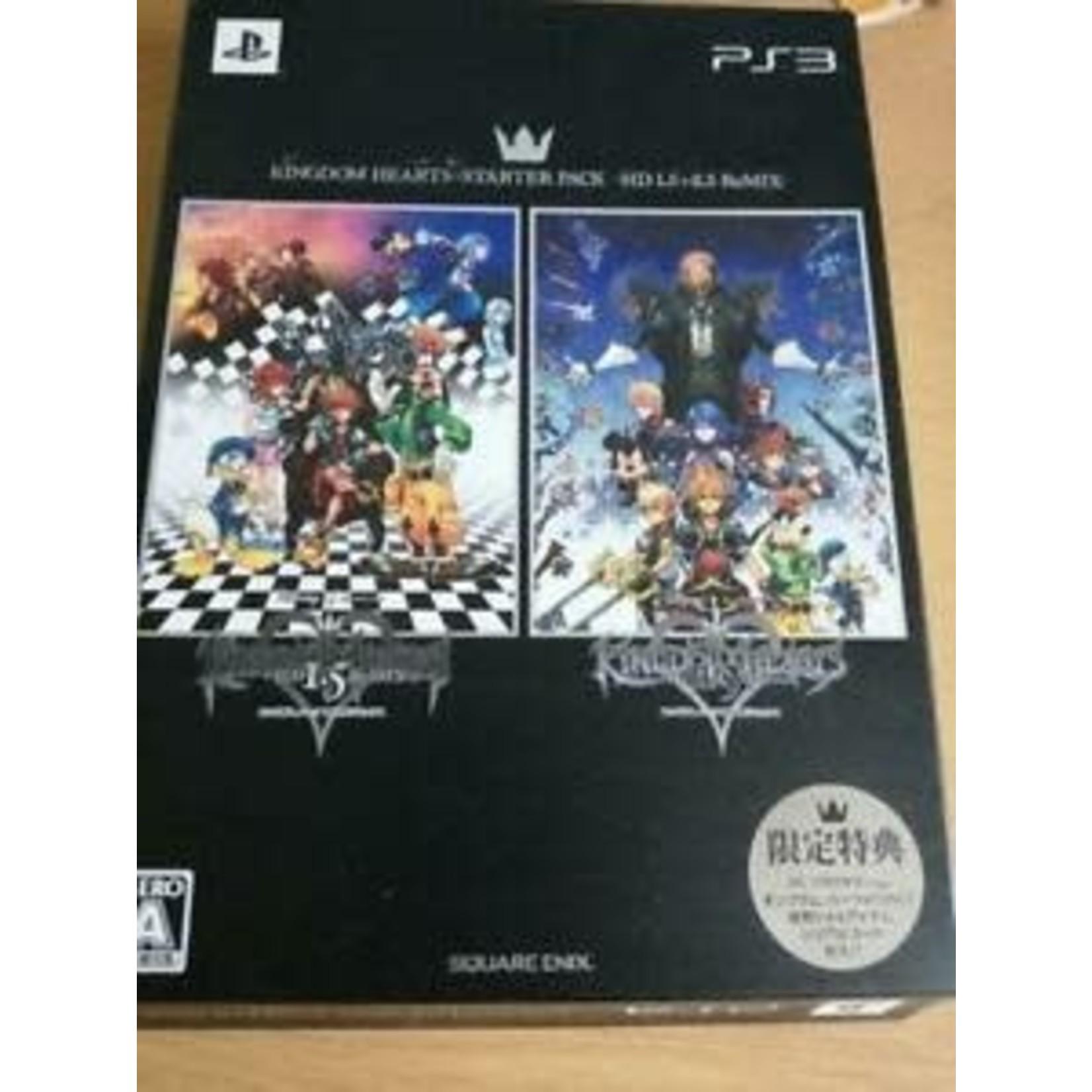 import-PS3u-Kingdom Hearts Starter Pack HD 1.5 + 2.5 Remix Manual